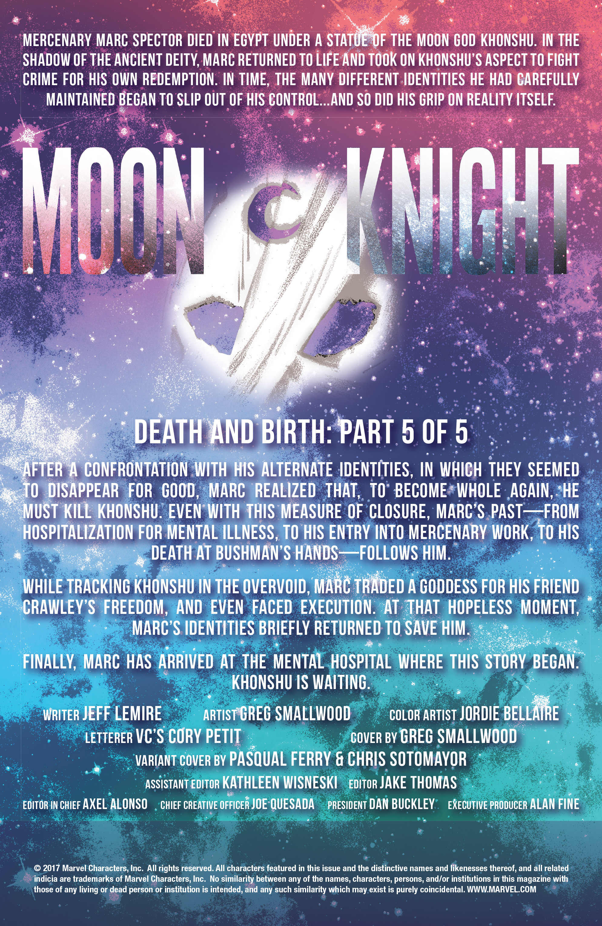 Read online Moon Knight (2016) comic -  Issue #14 - 2