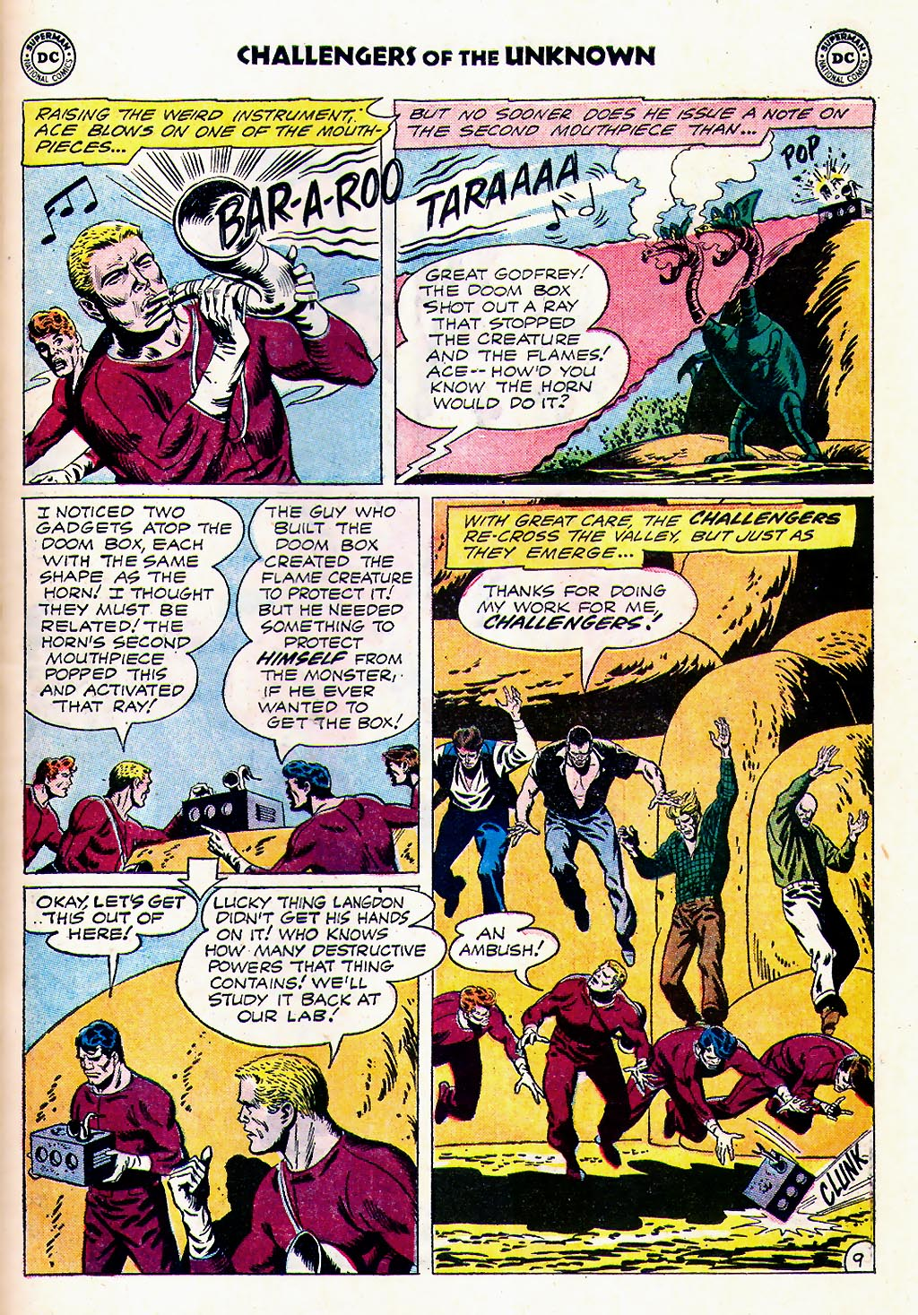 Challengers of the Unknown (1958) issue 23 - Page 11