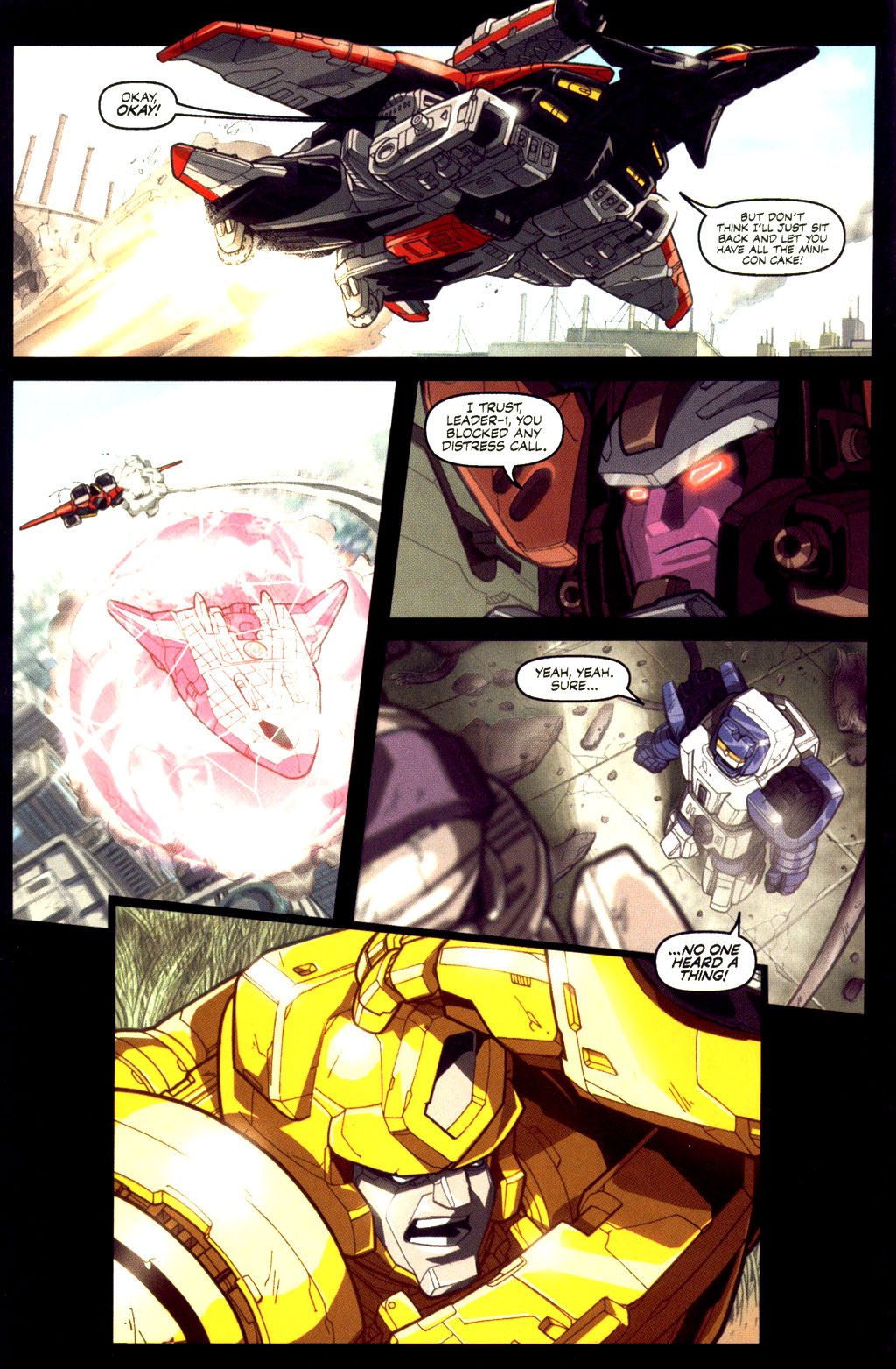 Read online Transformers Armada comic -  Issue #6 - 14