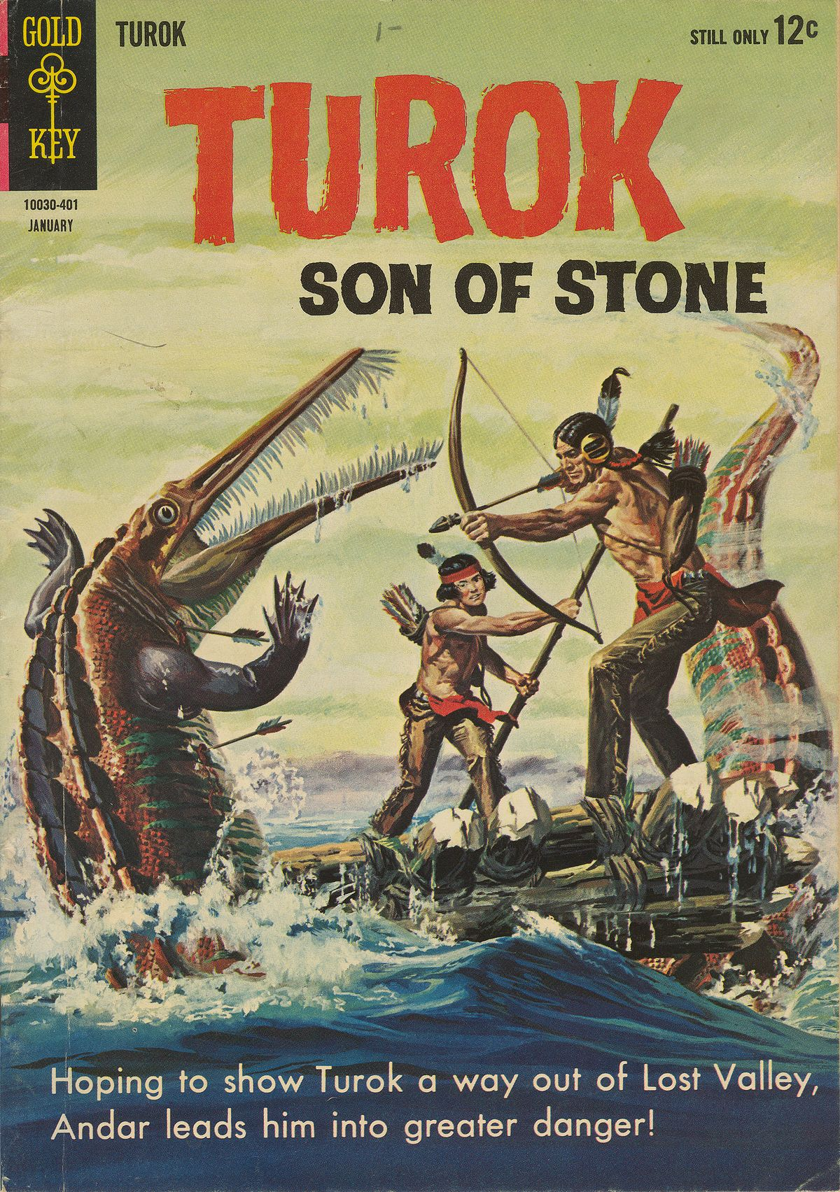 Read online Turok, Son of Stone comic -  Issue #37 - 1