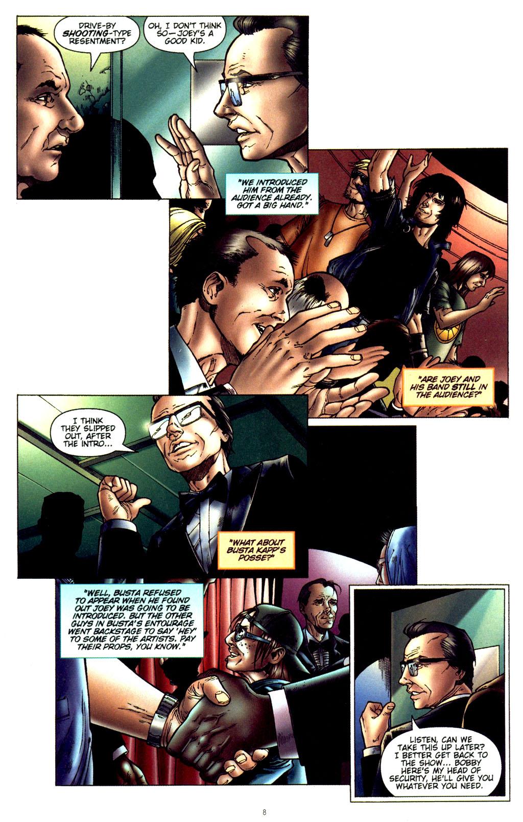 Read online CSI: Crime Scene Investigation: Bad Rap comic -  Issue #2 - 9