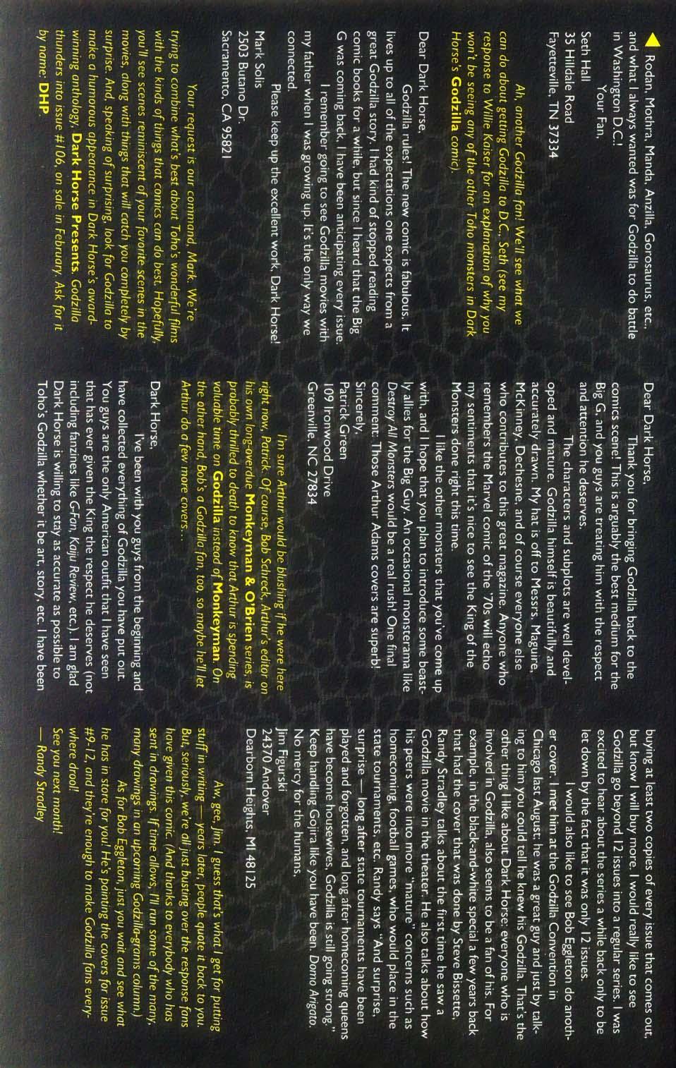 Godzilla (1995) Issue #7 #8 - English 29