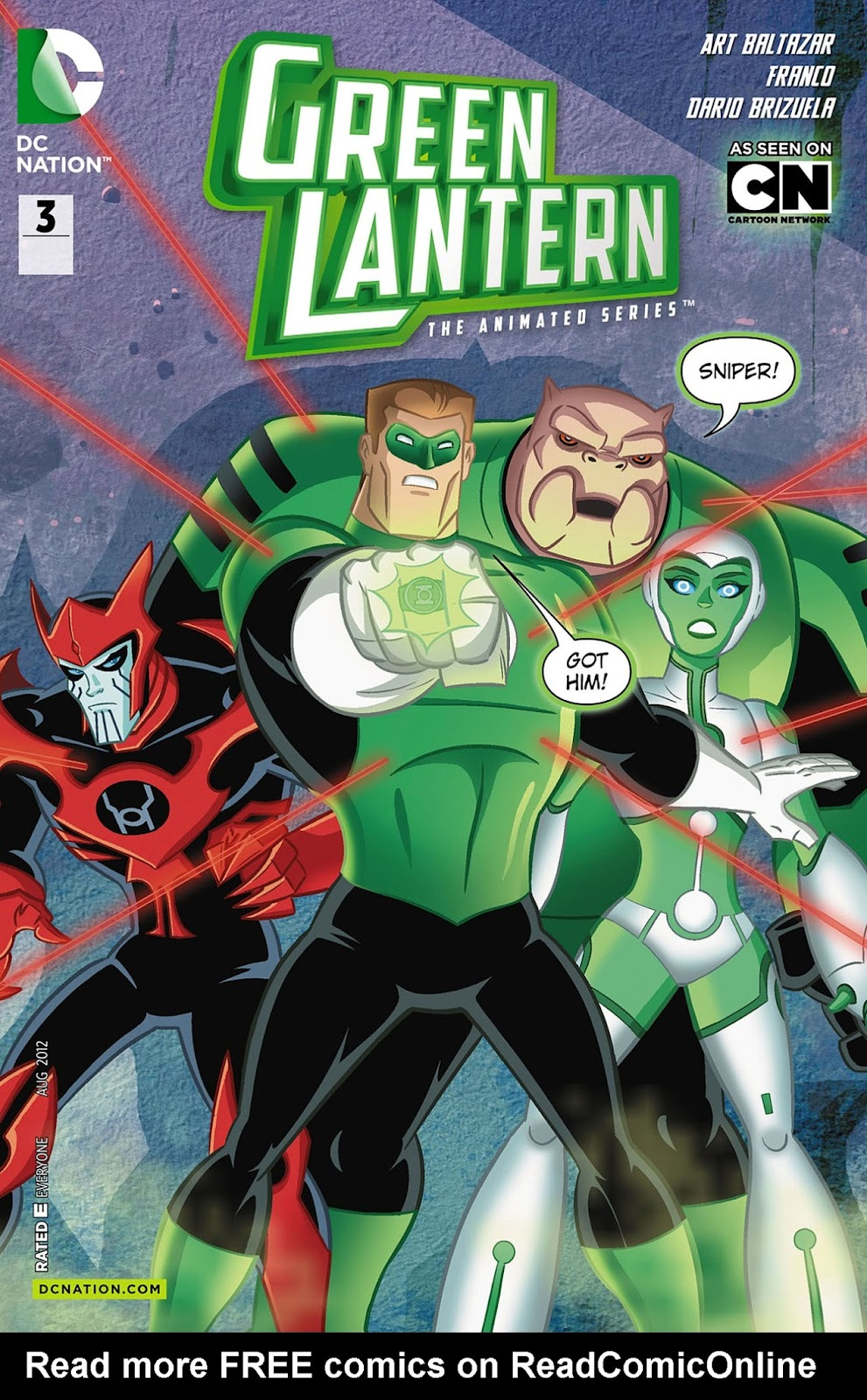 Green Lantern: The Animated Series 3 Page 1