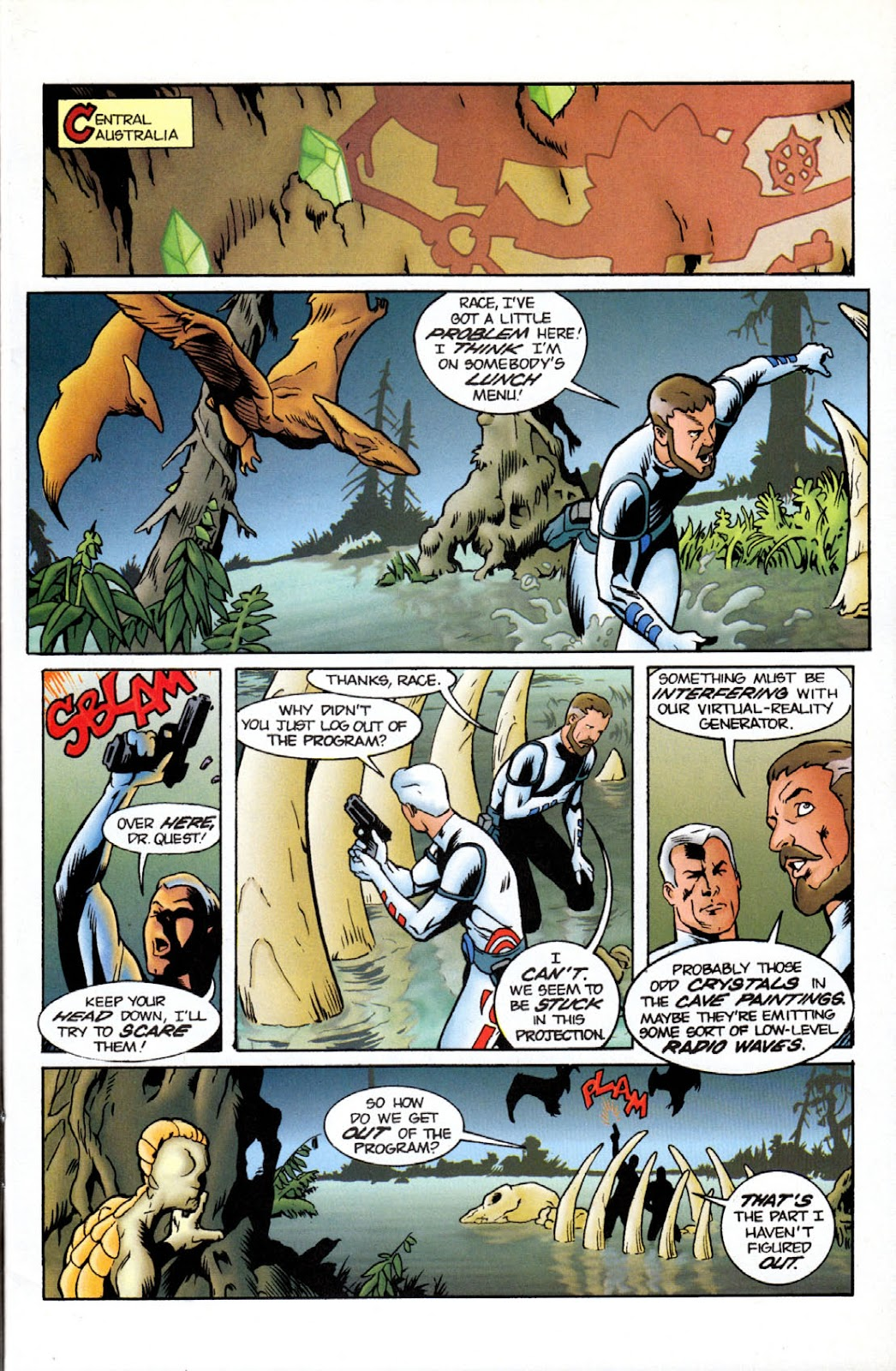 Read online The Real Adventures of Jonny Quest comic -  Issue #11 - 3