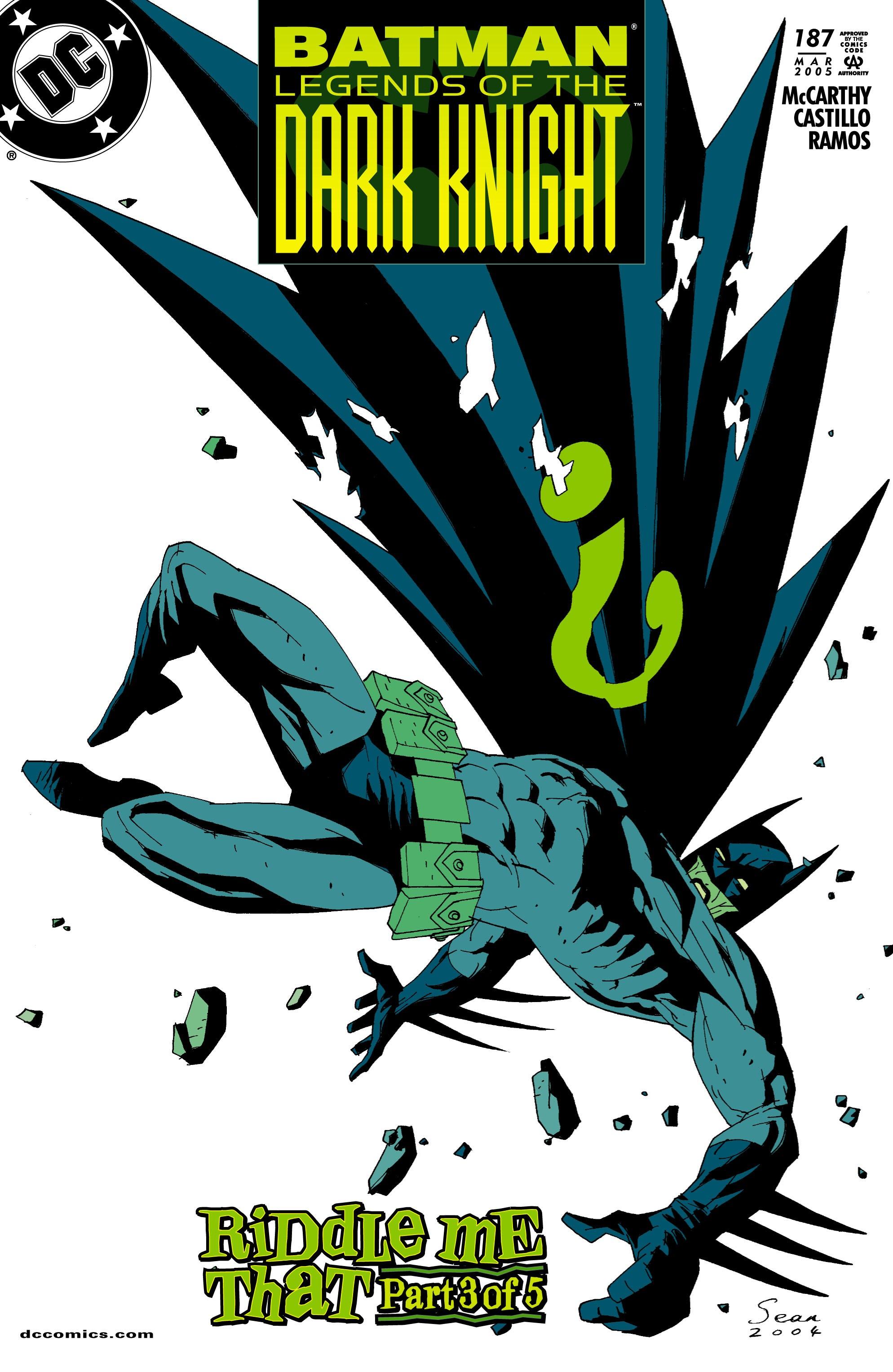 Batman: Legends of the Dark Knight 187 Page 1