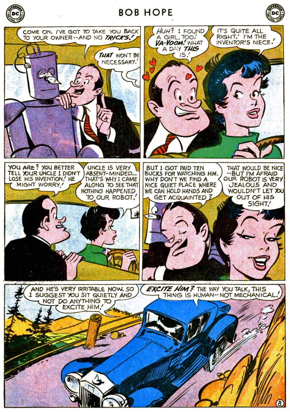 The Adventures of Bob Hope issue 68 - Page 10