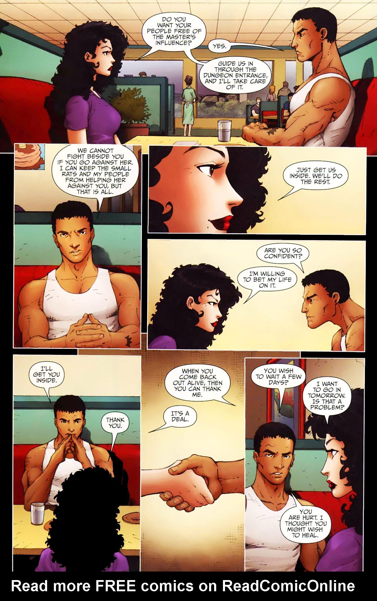 Read online Anita Blake, Vampire Hunter: Guilty Pleasures comic -  Issue #11 - 12