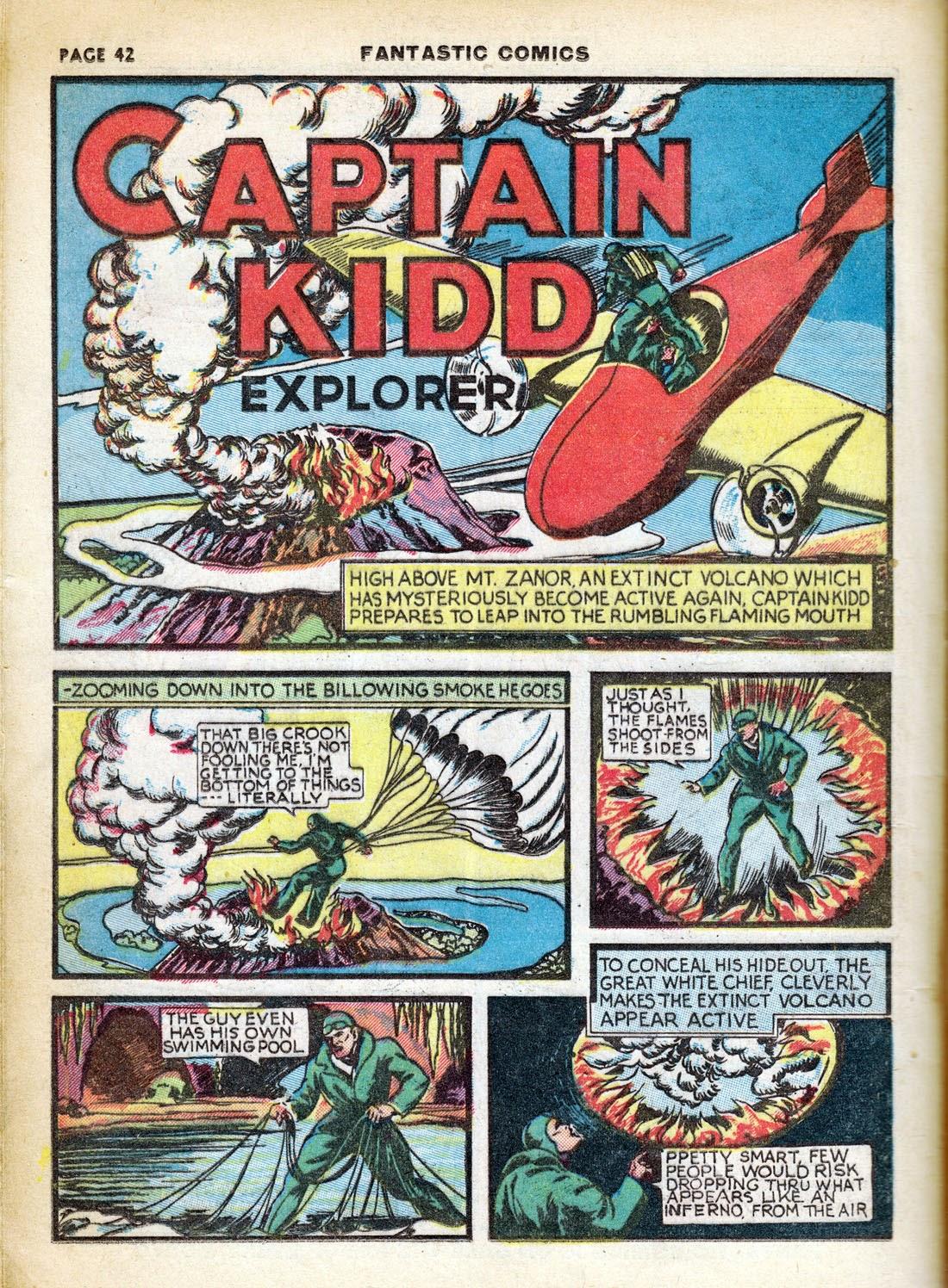 Read online Fantastic Comics comic -  Issue #7 - 44