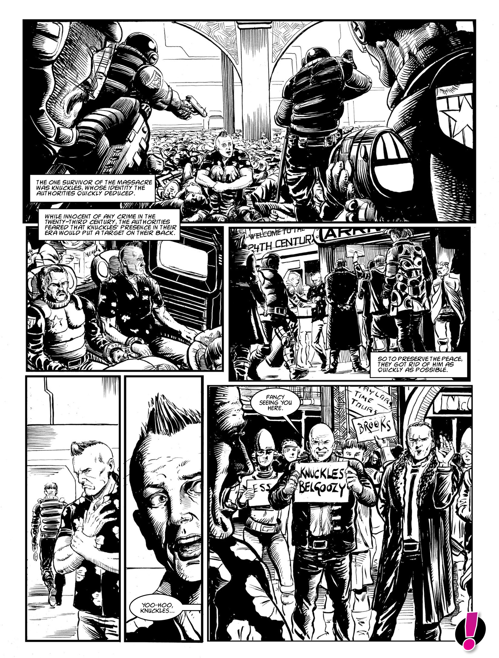 Read online 2000 AD comic -  Issue #1982 - 23
