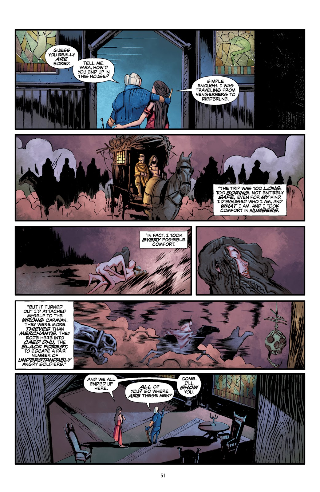 Read online The Witcher Omnibus comic -  Issue # TPB (Part 1) - 51