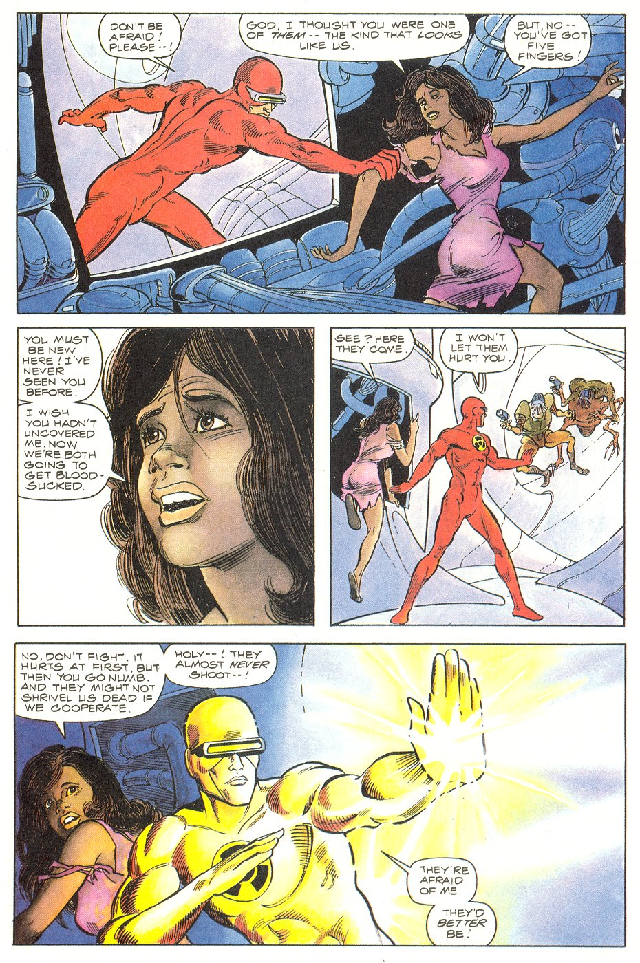 Read online Solar, Man of the Atom comic -  Issue #6 - 6