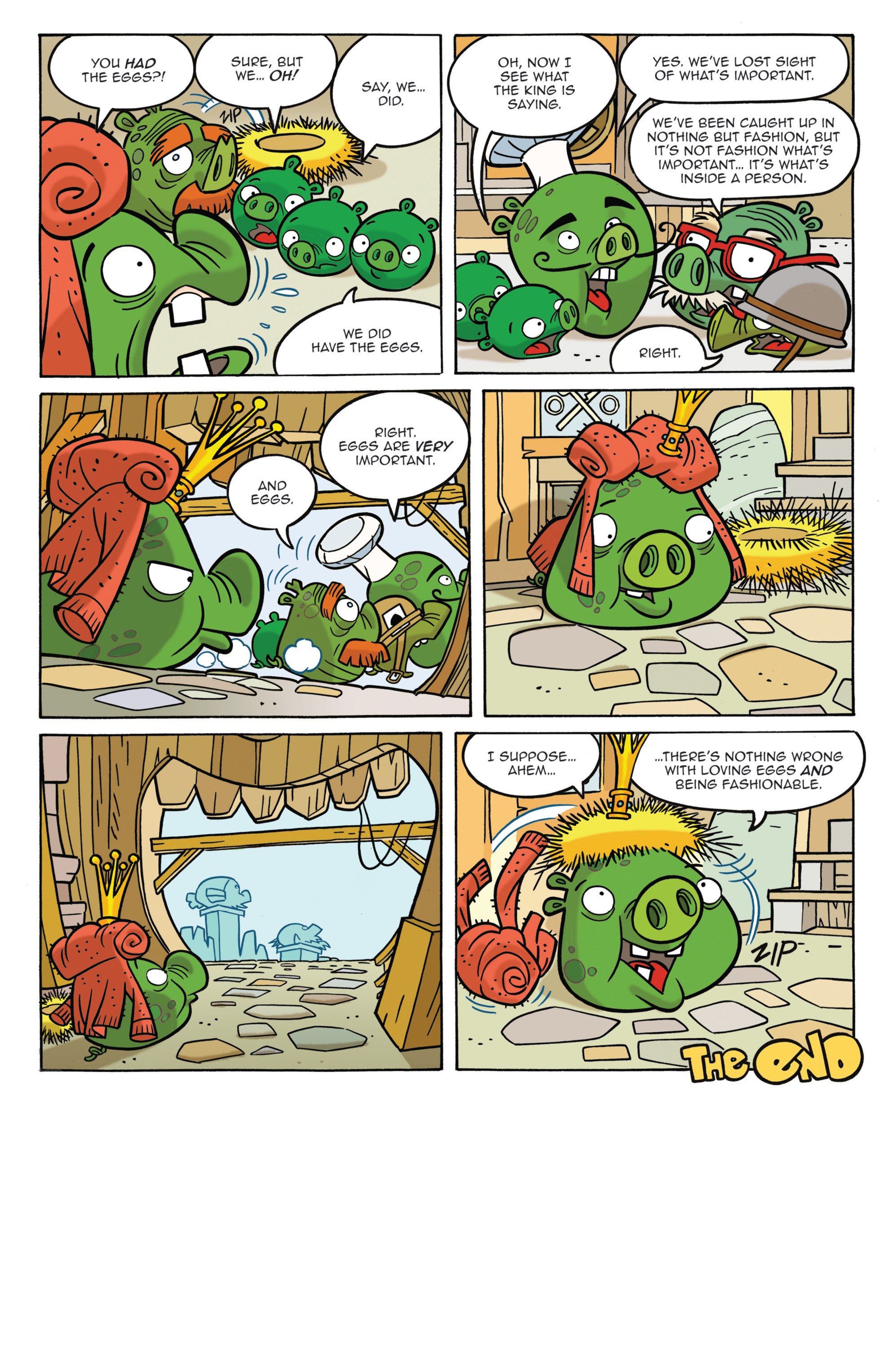 Read online Angry Birds Comics (2014) comic -  Issue #3 - 13