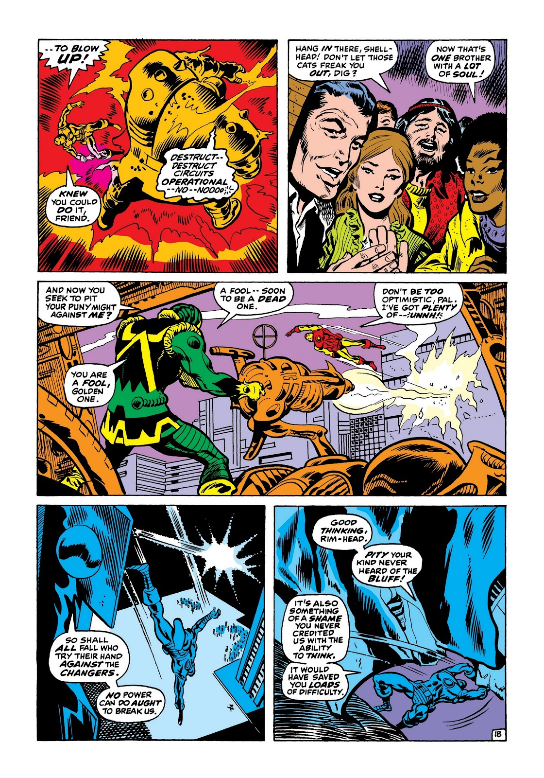 Read online Marvel Masterworks: The Invincible Iron Man comic -  Issue # TPB 7 (Part 3) - 66