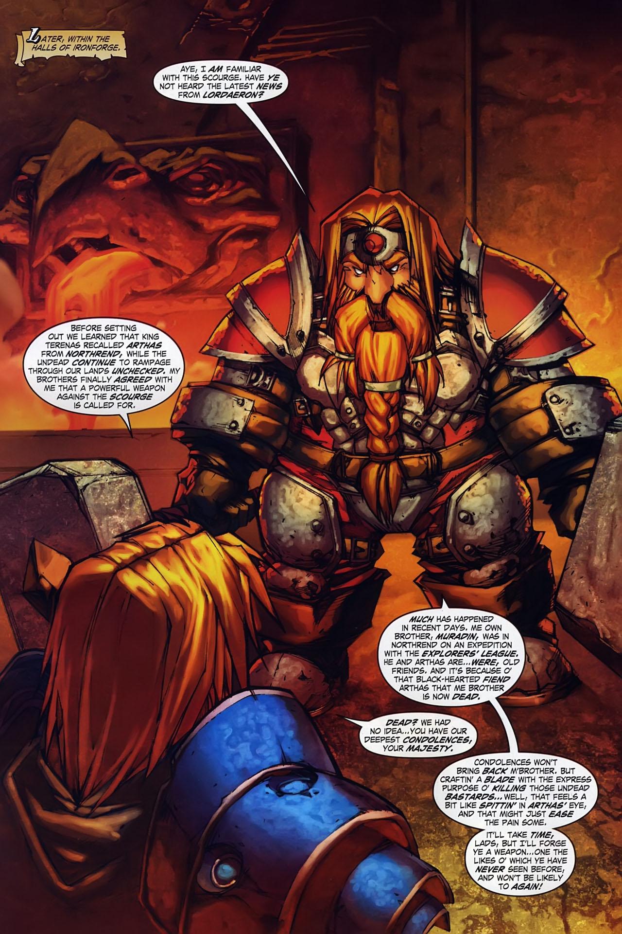 Read online World of Warcraft: Ashbringer comic -  Issue #1 - 13