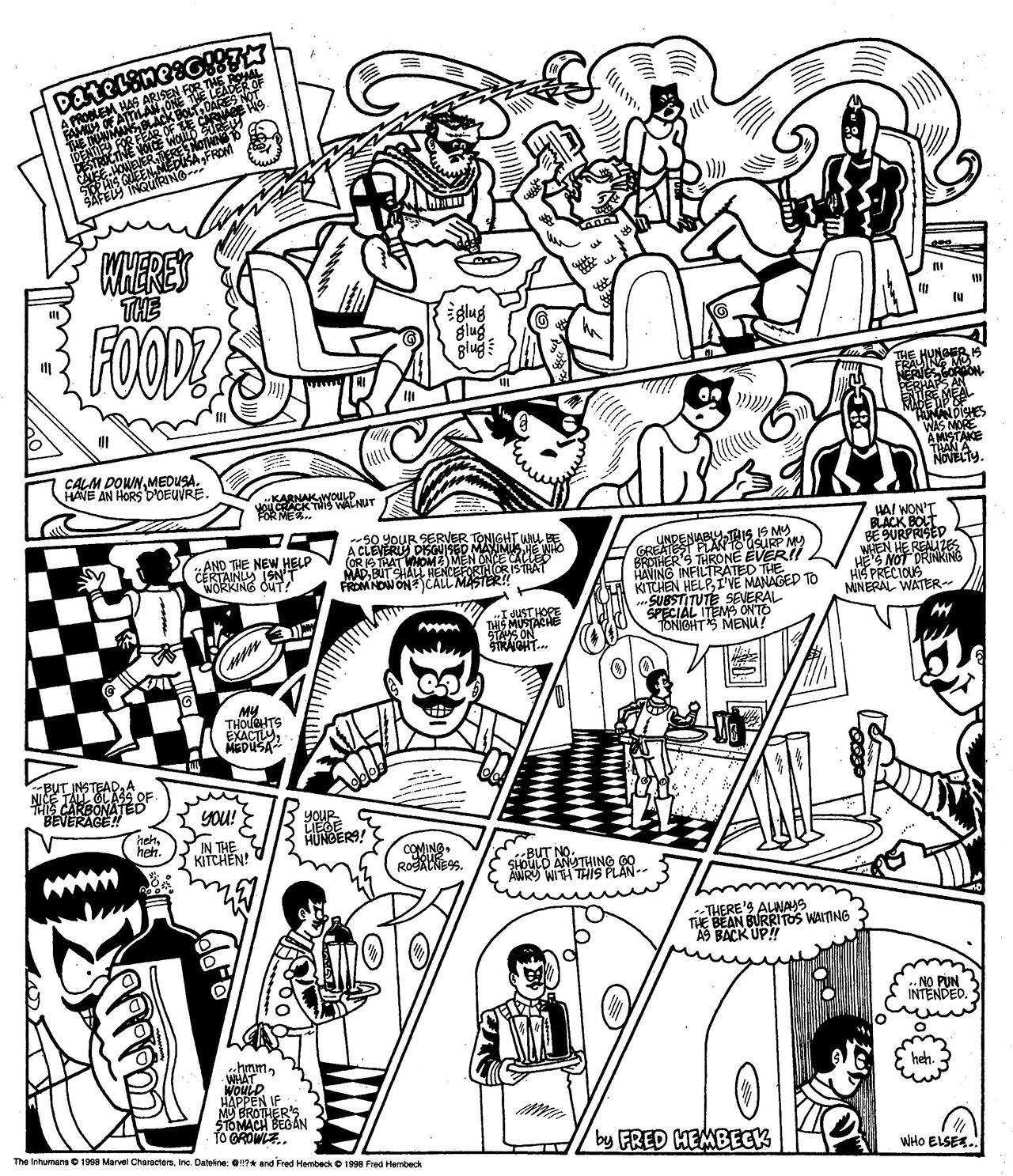 Read online The Nearly Complete Essential Hembeck Archives Omnibus comic -  Issue # TPB (Part 7) - 43