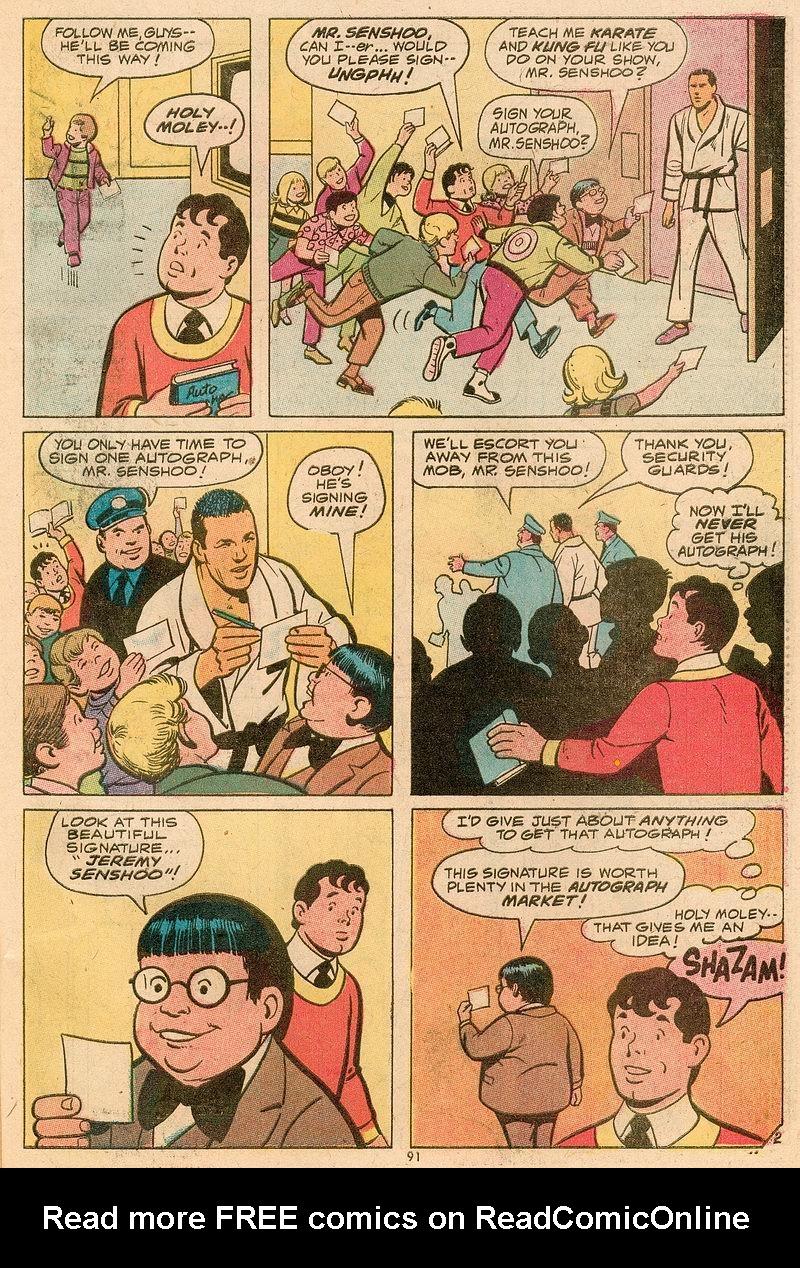 Read online Shazam! (1973) comic -  Issue #12 - 80