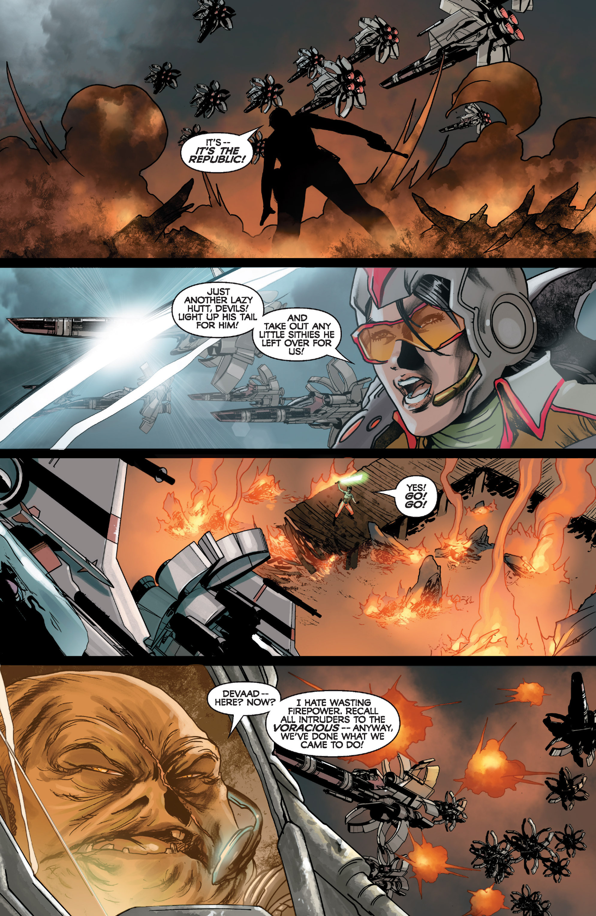 Read online Star Wars: Knight Errant - Deluge comic -  Issue #1 - 19