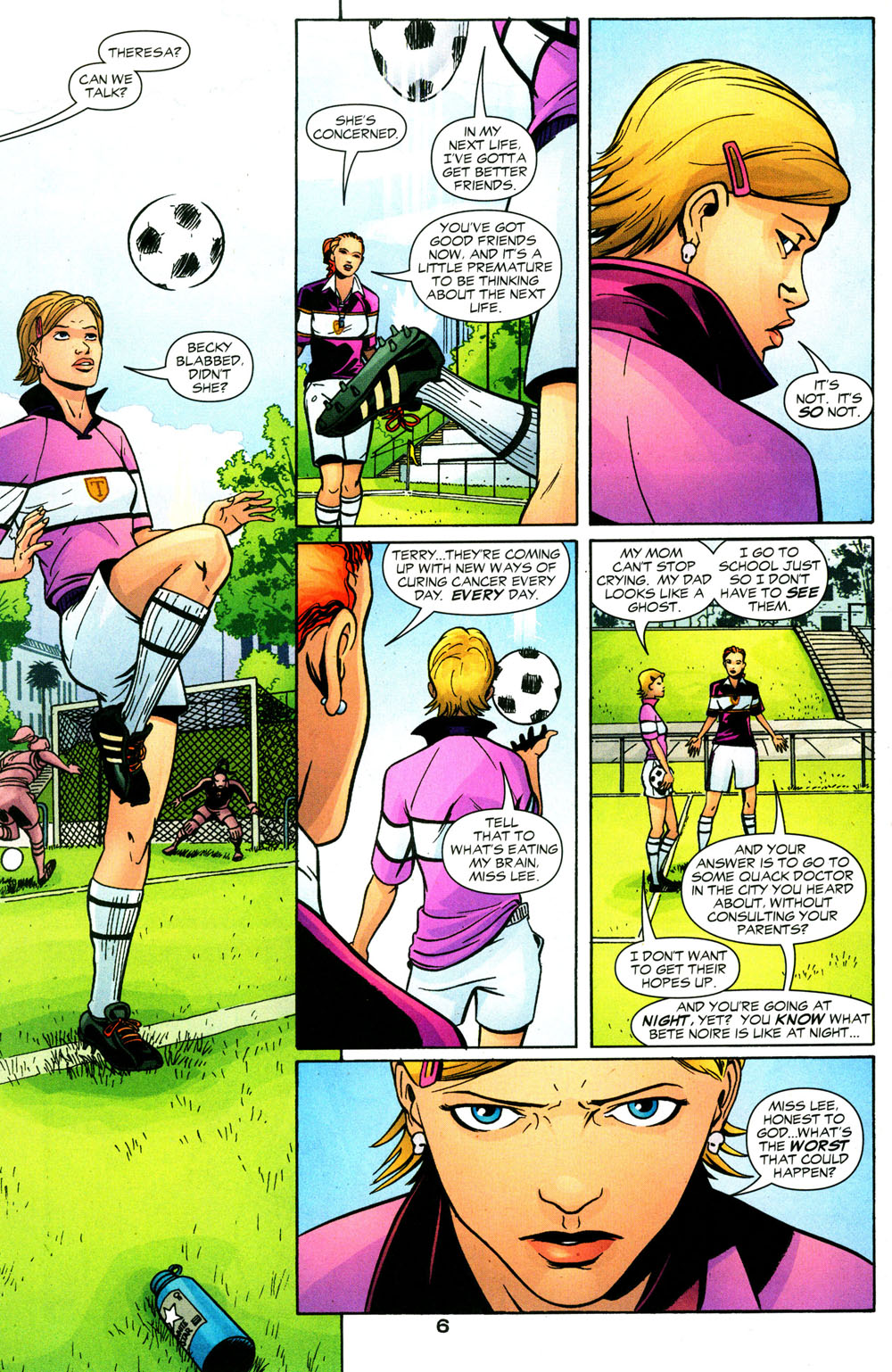 Read online Fallen Angel (2003) comic -  Issue #3 - 7