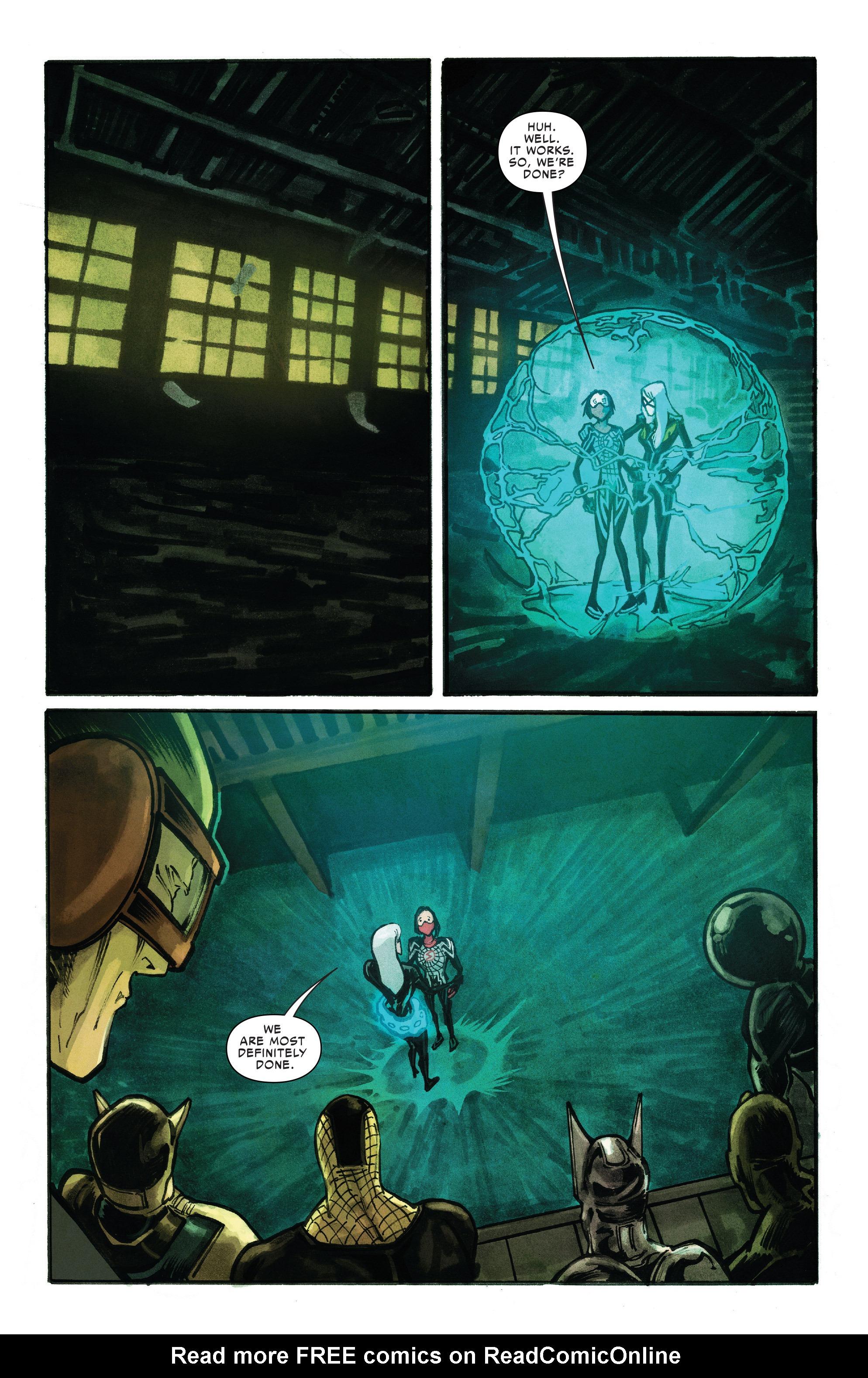 Read online Silk (2016) comic -  Issue #10 - 11