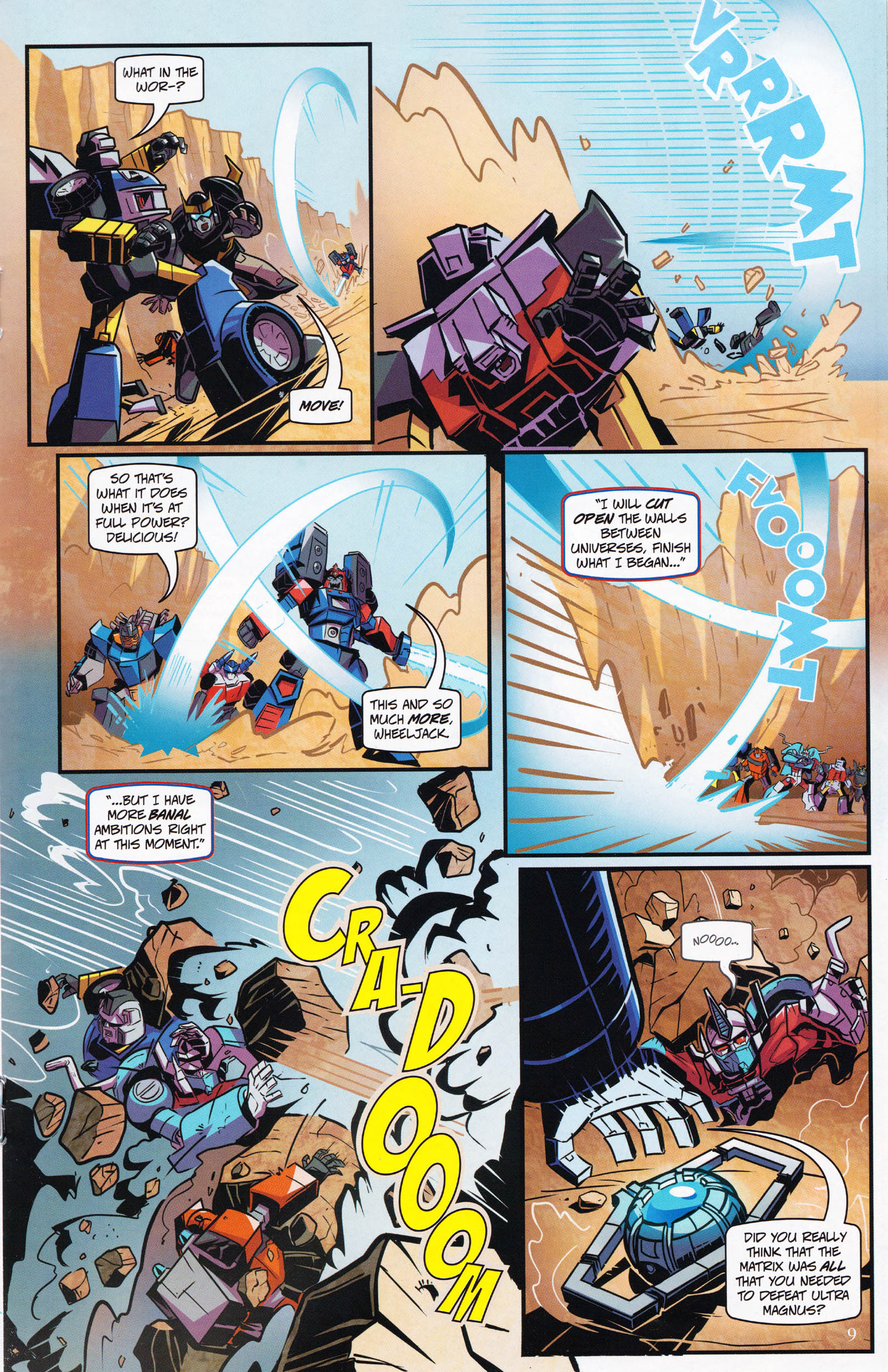 Read online Transformers: Collectors' Club comic -  Issue #64 - 9