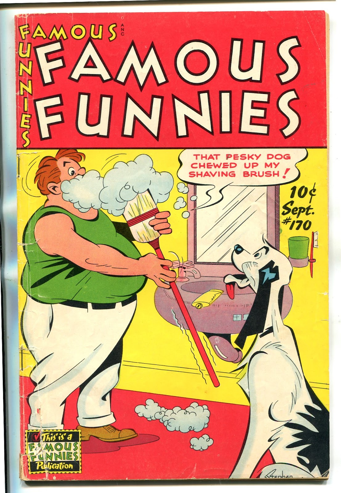 Read online Famous Funnies comic -  Issue #170 - 7