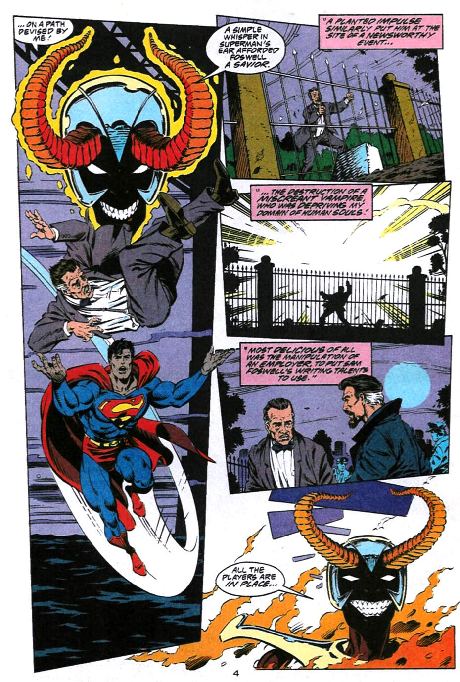 Read online Adventures of Superman (1987) comic -  Issue #493 - 5