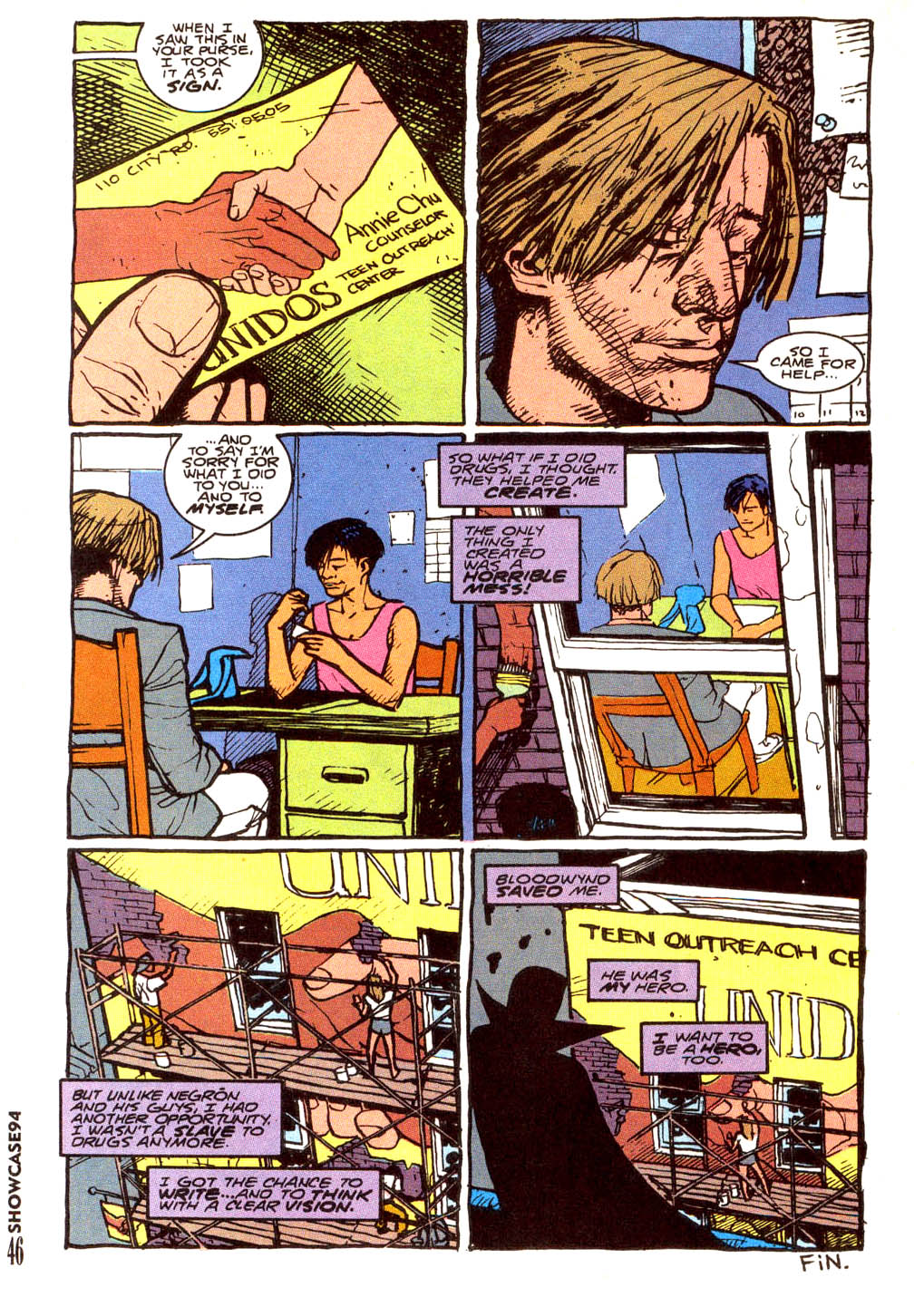Read online Showcase '94 comic -  Issue #5 - 39