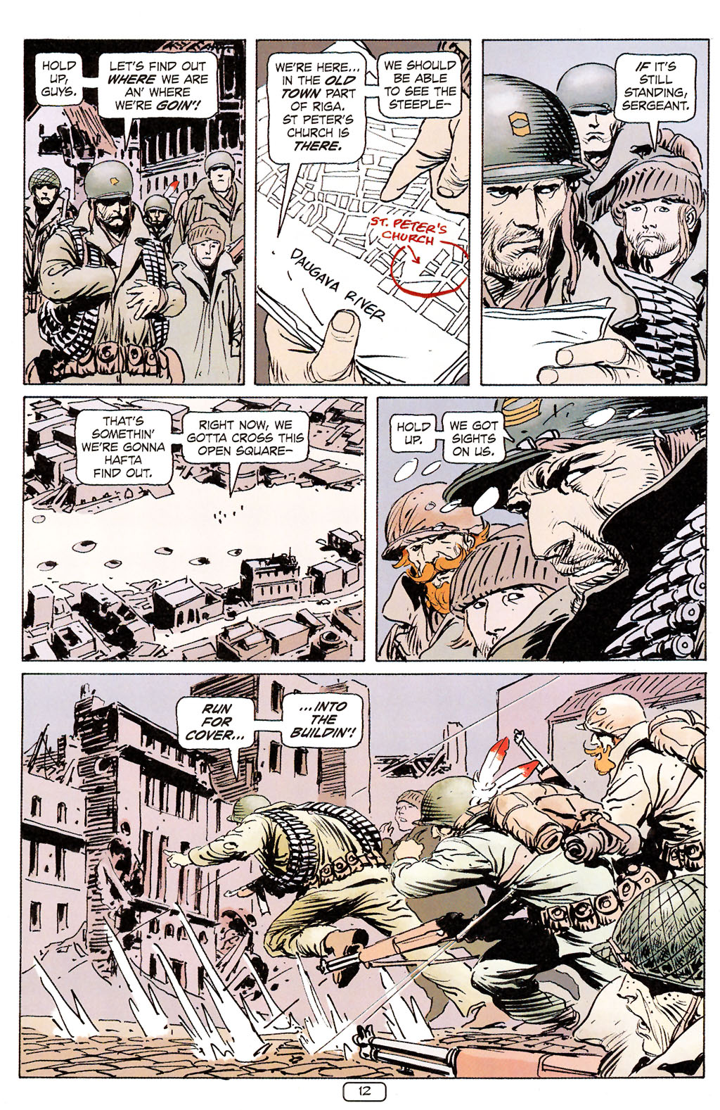 Read online Sgt. Rock: The Prophecy comic -  Issue #6 - 12