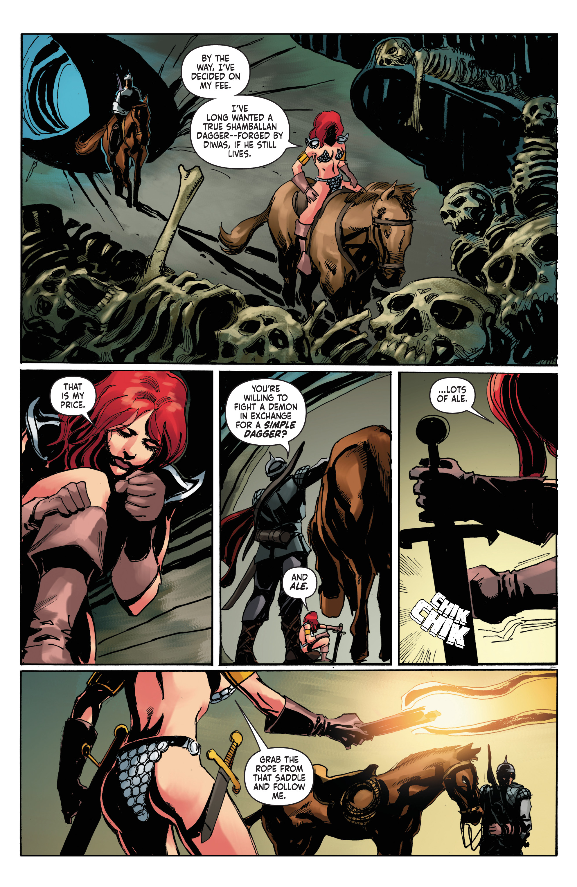 Read online Red Sonja: The Long Walk To Oblivion comic -  Issue # Full - 21
