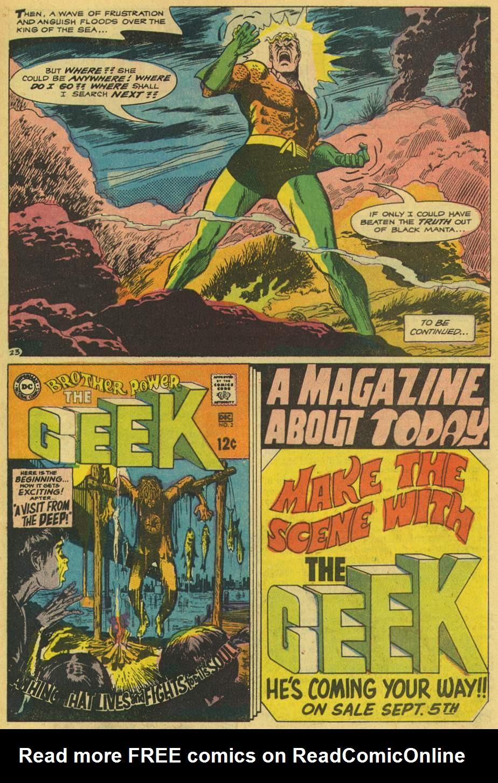 Read online Aquaman (1962) comic -  Issue #42 - 31