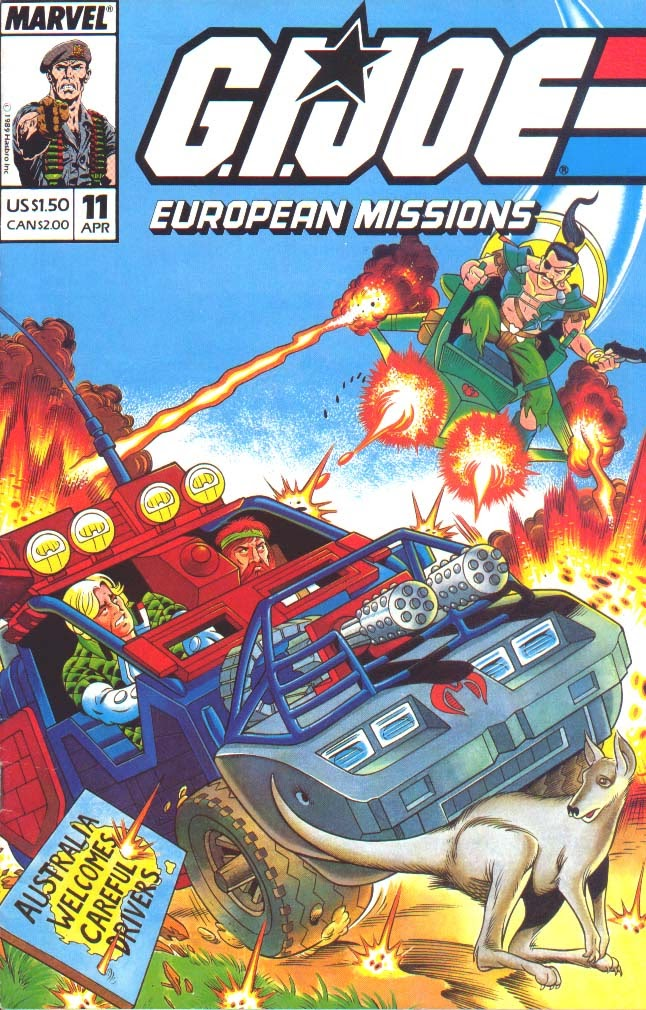 G.I. Joe European Missions issue 11 - Page 1