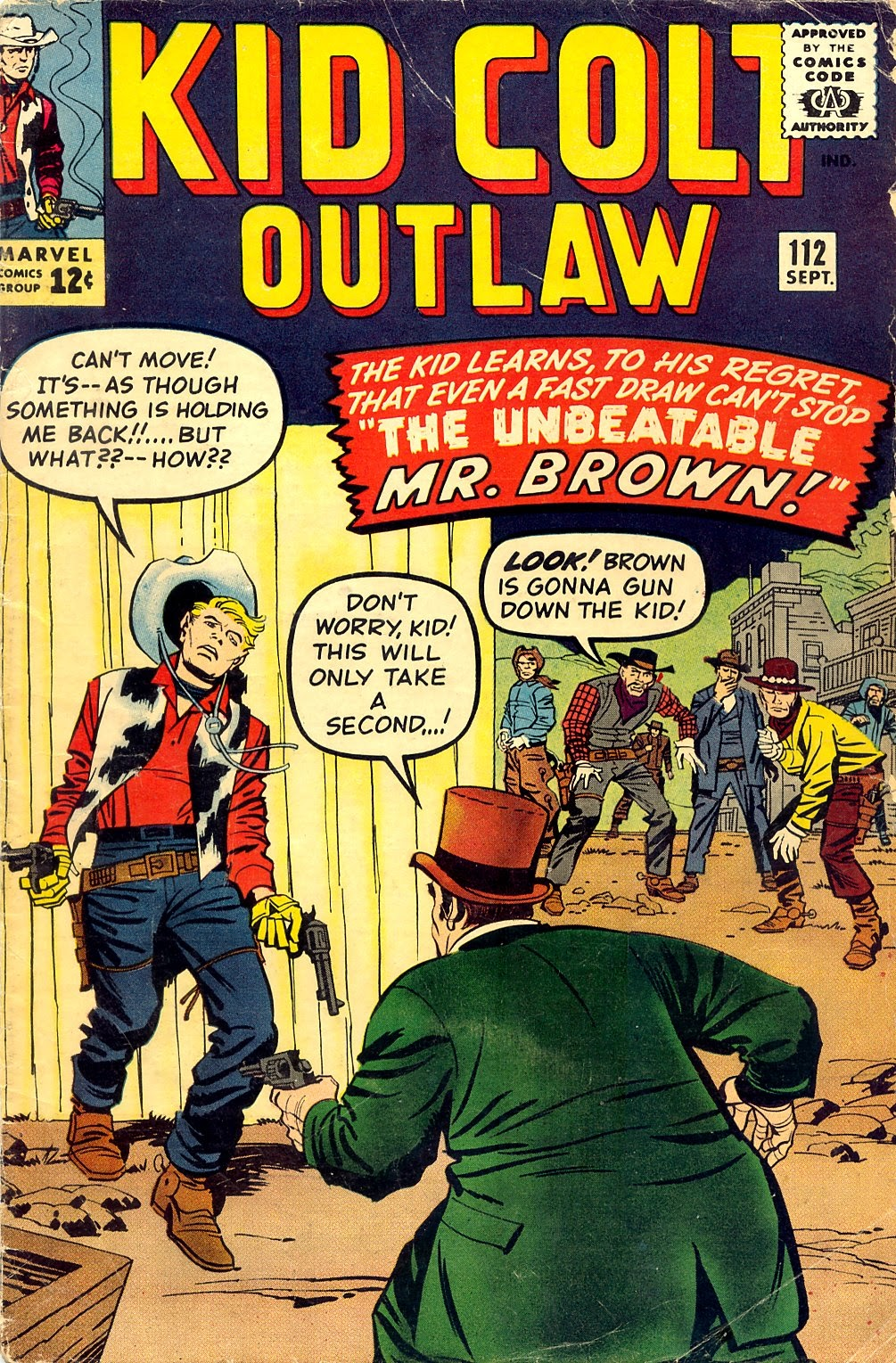 Kid Colt Outlaw issue 112 - Page 1