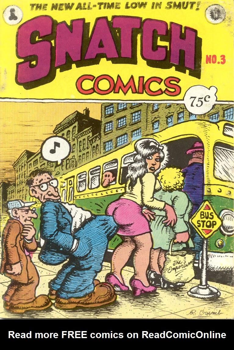 Snatch Comics 3 Page 1