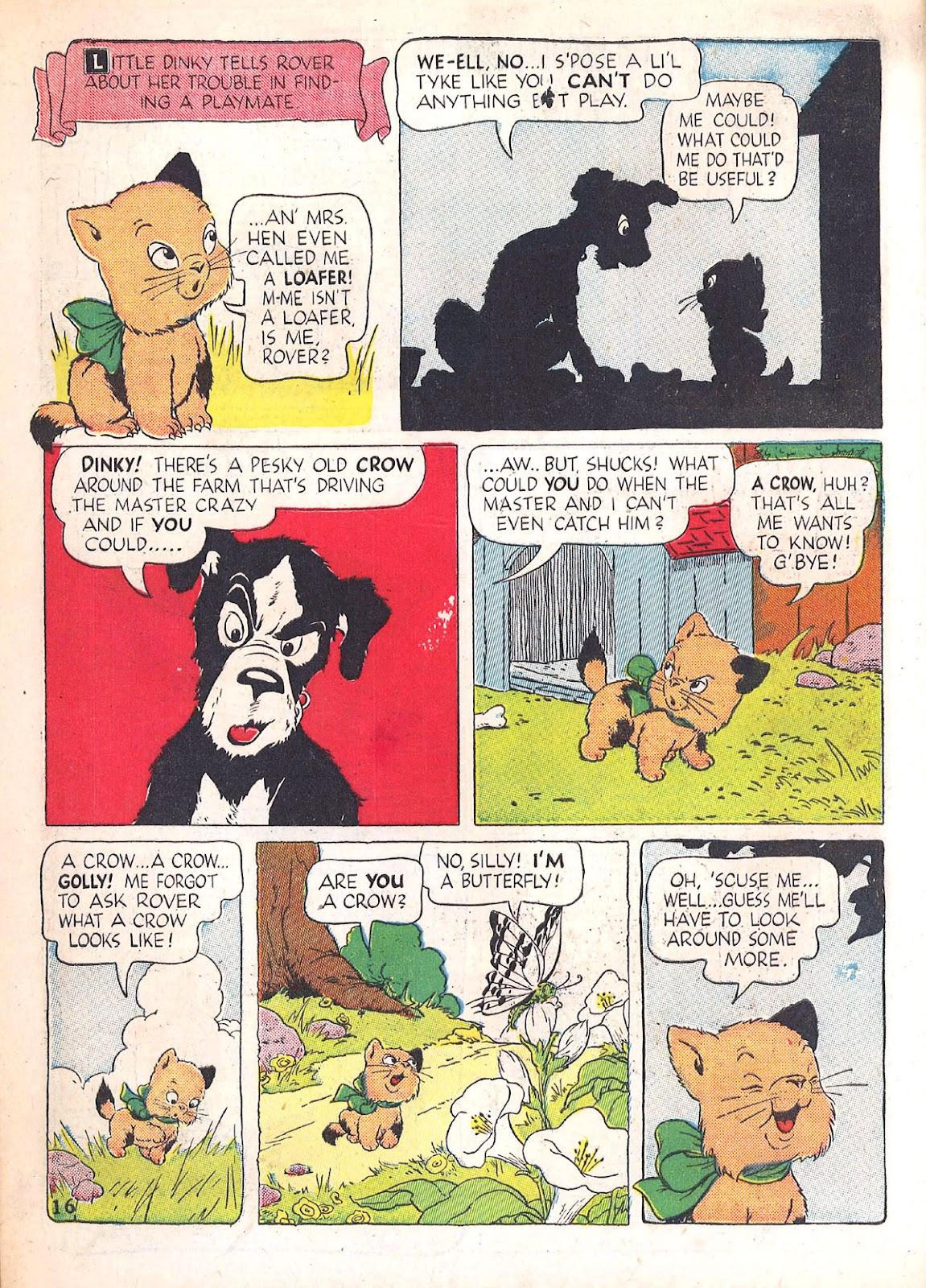 Read online Animal Comics comic -  Issue #4 - 19