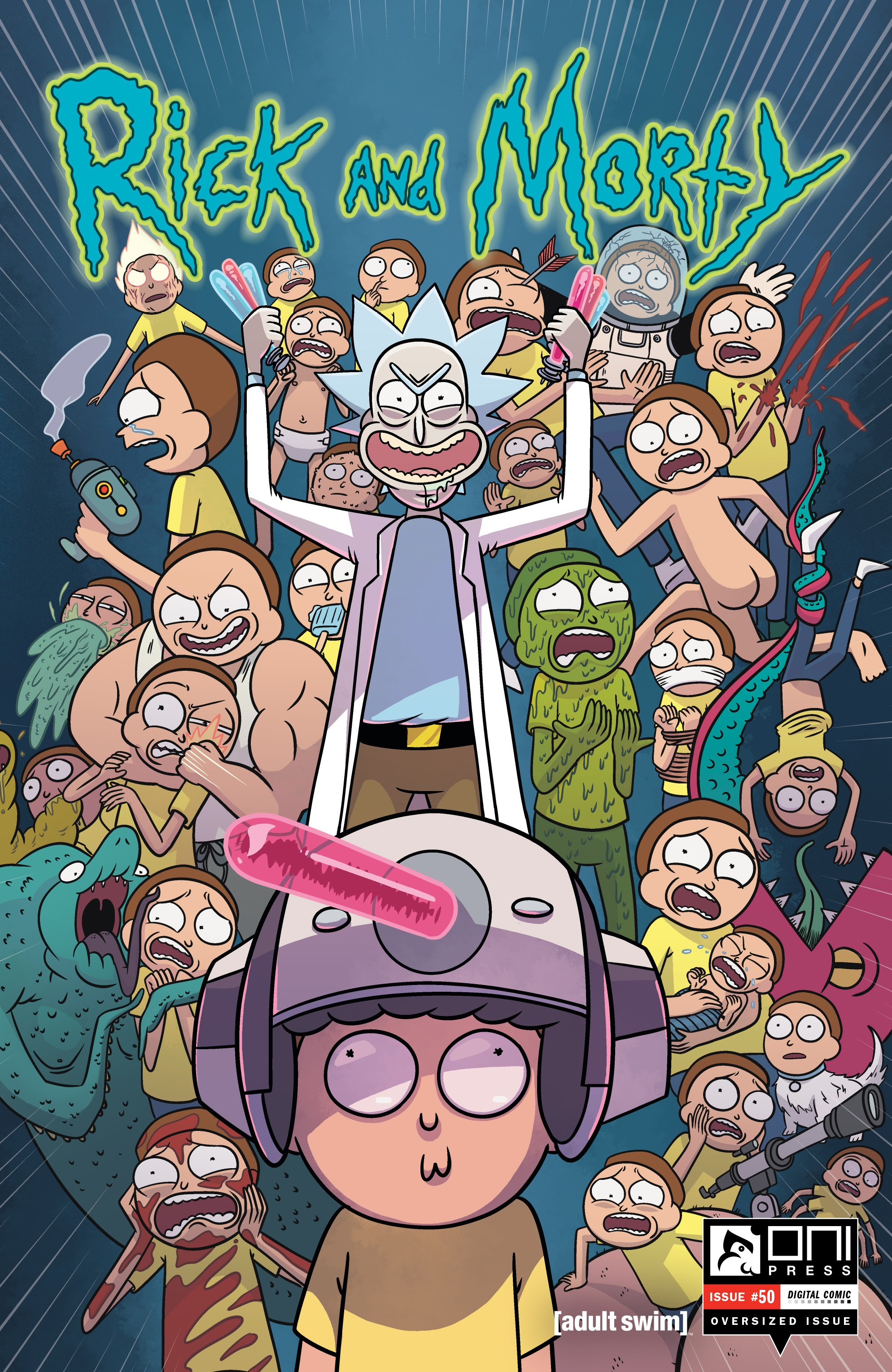 Rick and Morty 50 Page 1