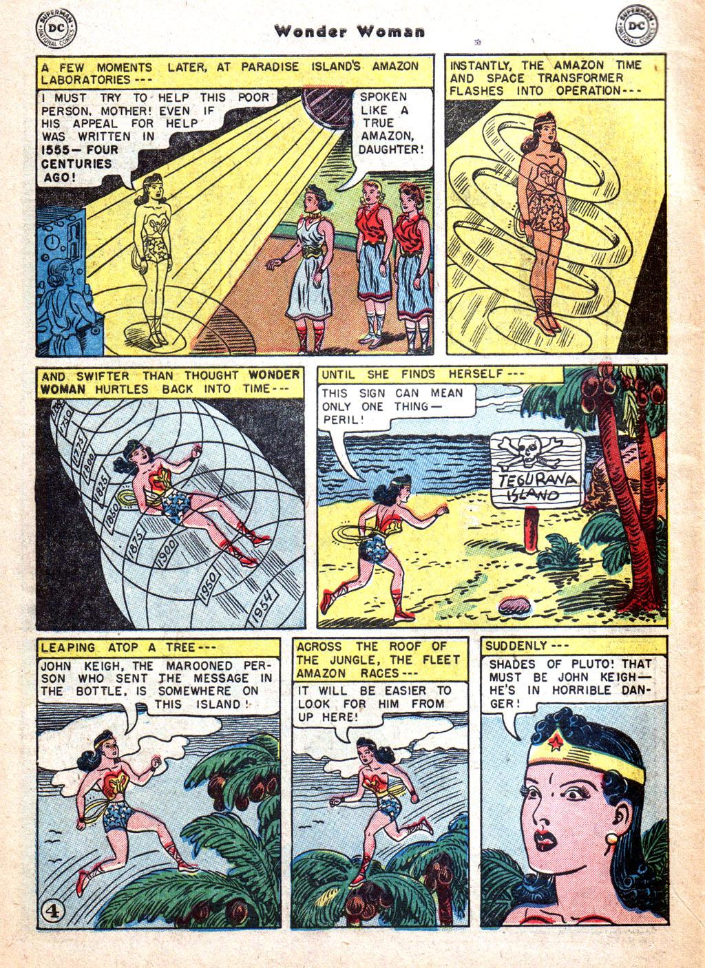 Read online Wonder Woman (1942) comic -  Issue #72 - 6