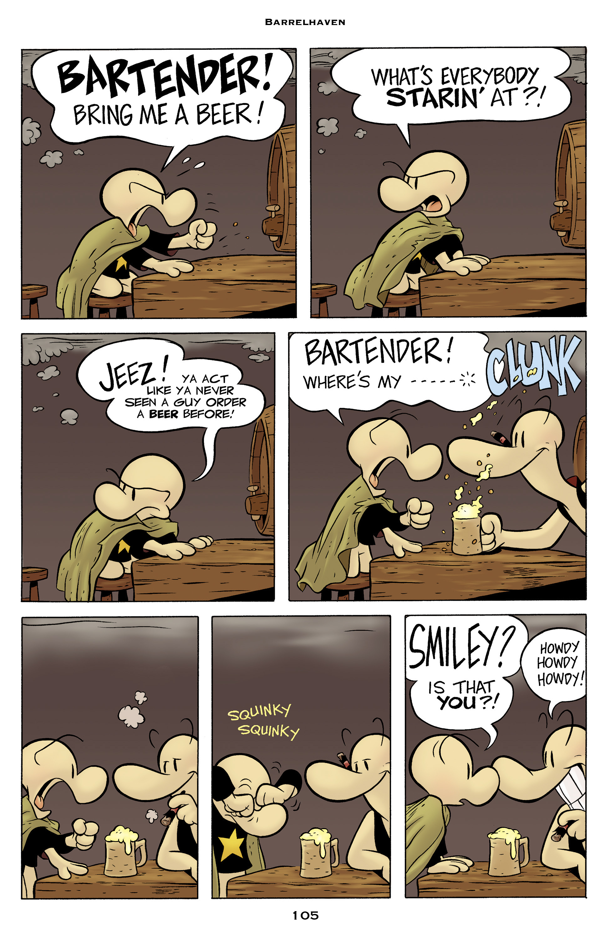 Read online Bone: Out From Boneville comic -  Issue # TPB - 105
