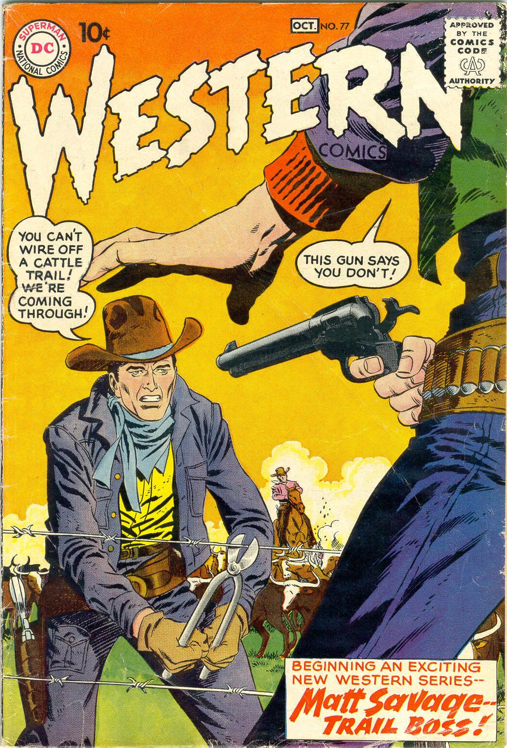 Western Comics issue 77 - Page 1