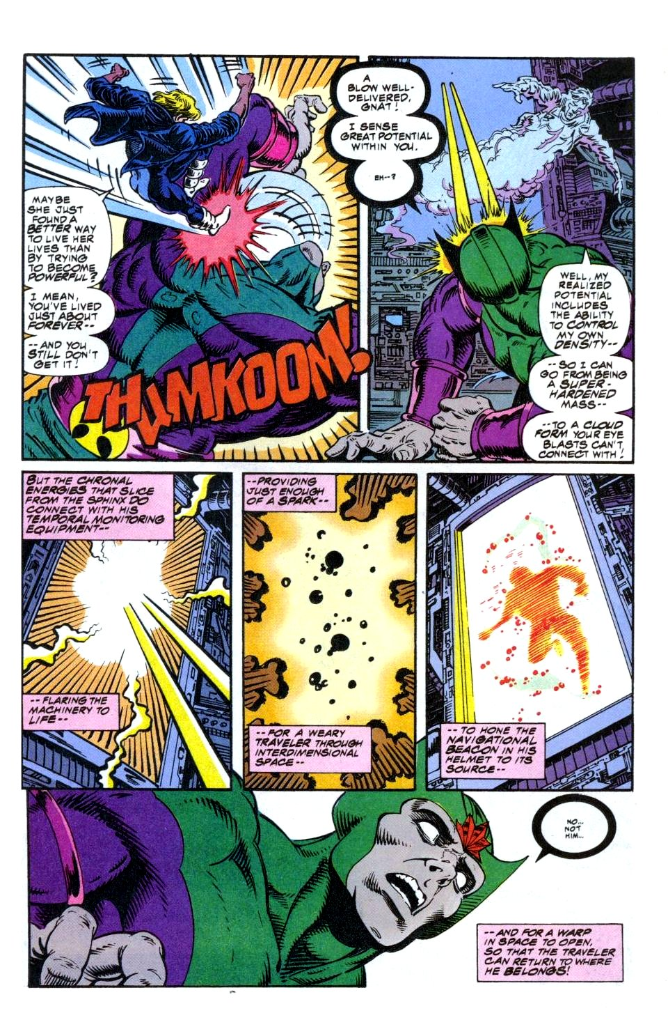 The New Warriors Issue #49 #53 - English 22