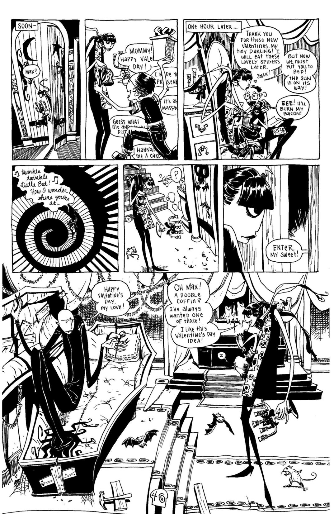 Read online Scary Godmother Comic Book Stories comic -  Issue # TPB - 41