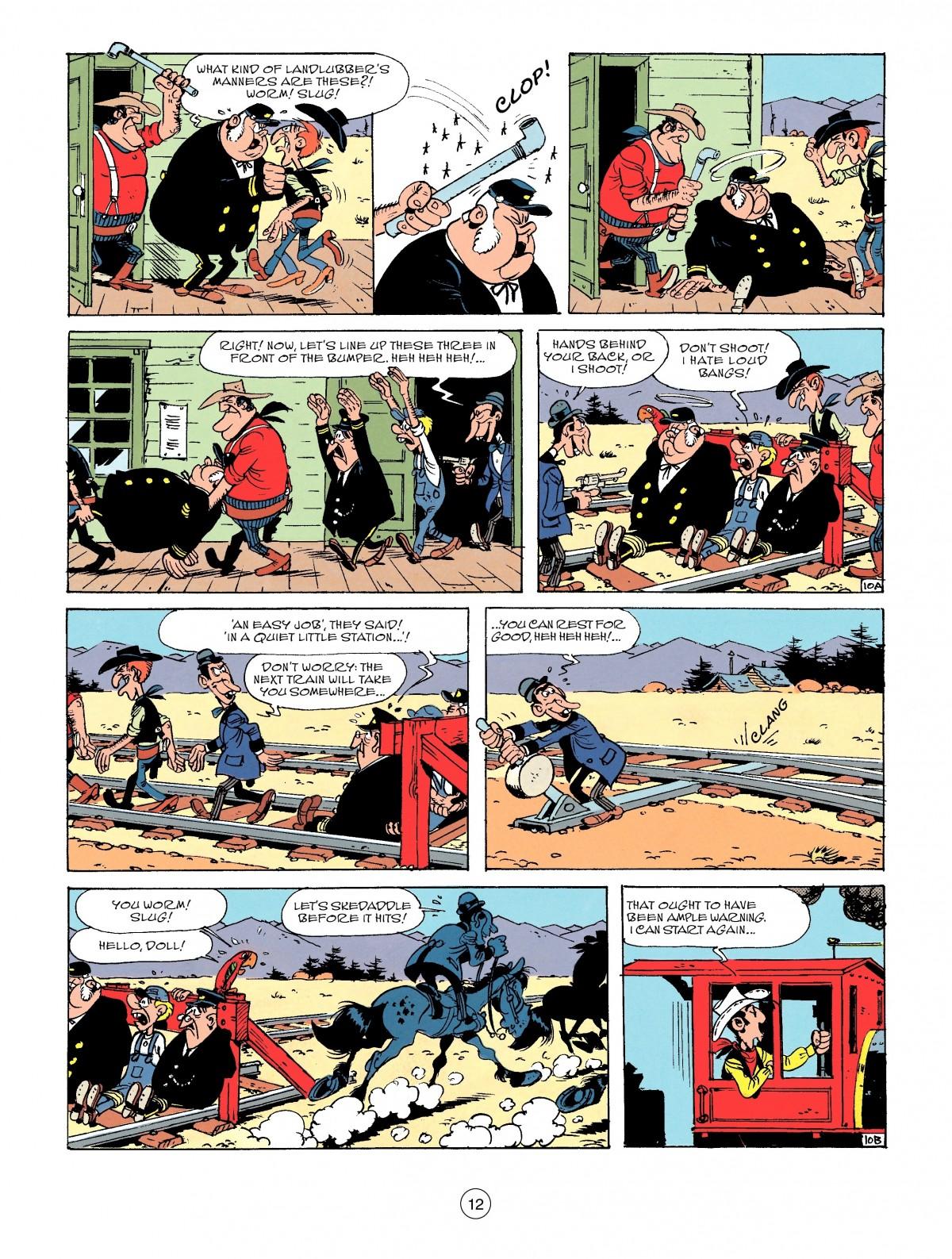 Read online A Lucky Luke Adventure comic -  Issue #53 - 12