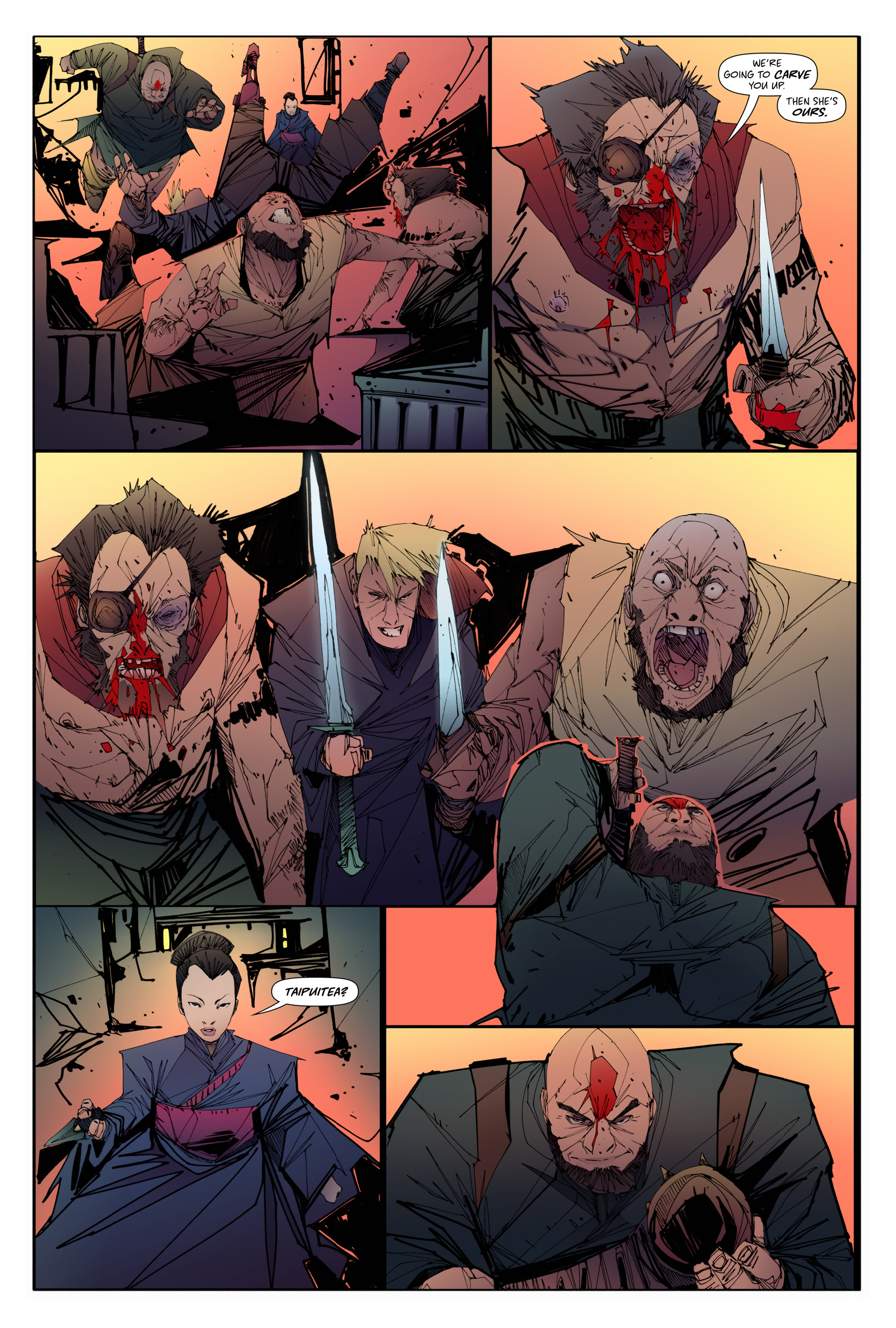 Read online Scrimshaw comic -  Issue #3 - 8