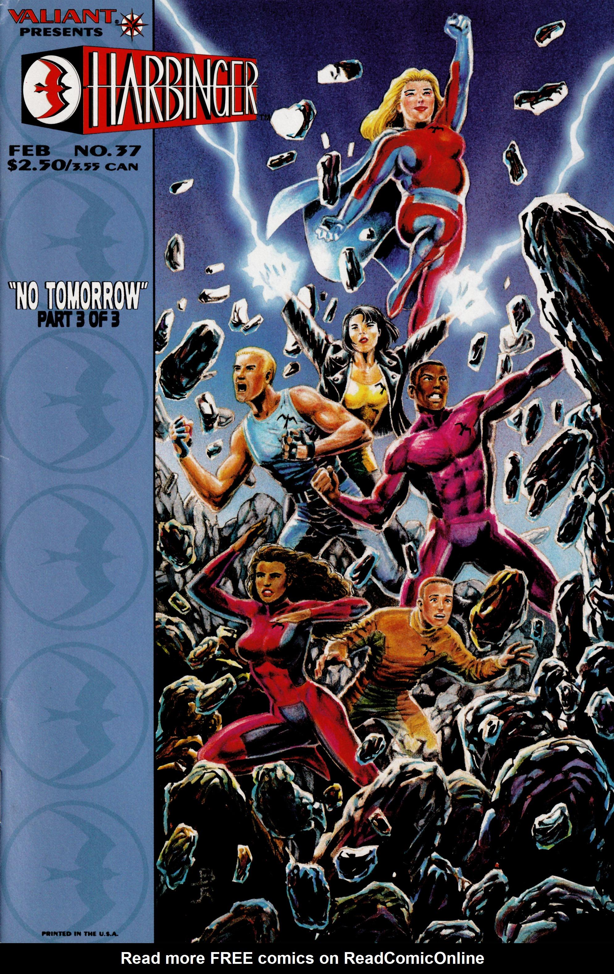 Read online Harbinger (1992) comic -  Issue #37 - 1