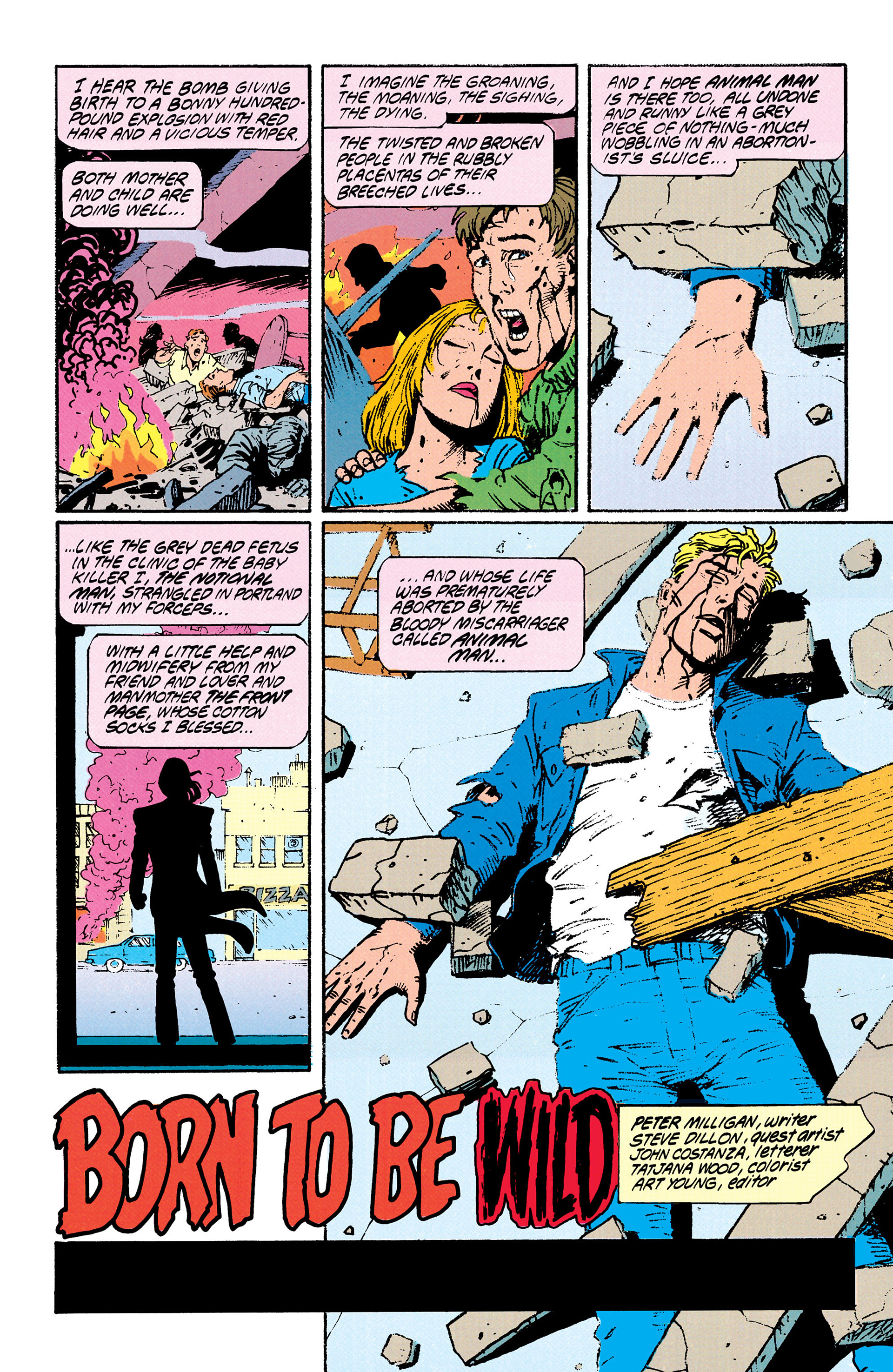 Read online Animal Man (1988) comic -  Issue #29 - 2