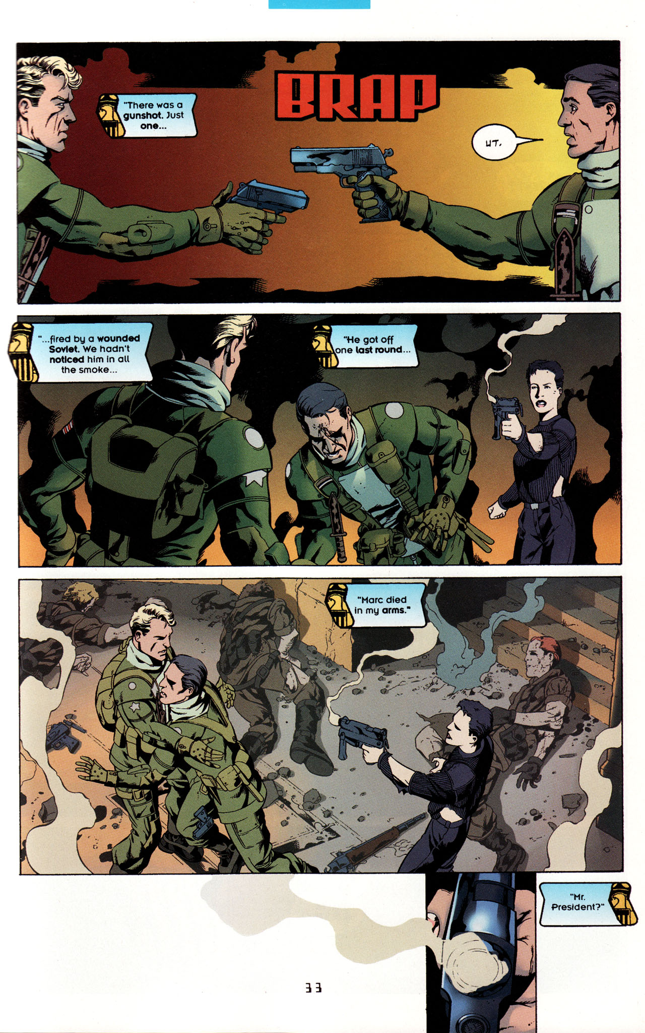 Read online Tangent Comics/ Metal Men comic -  Issue # Full - 32