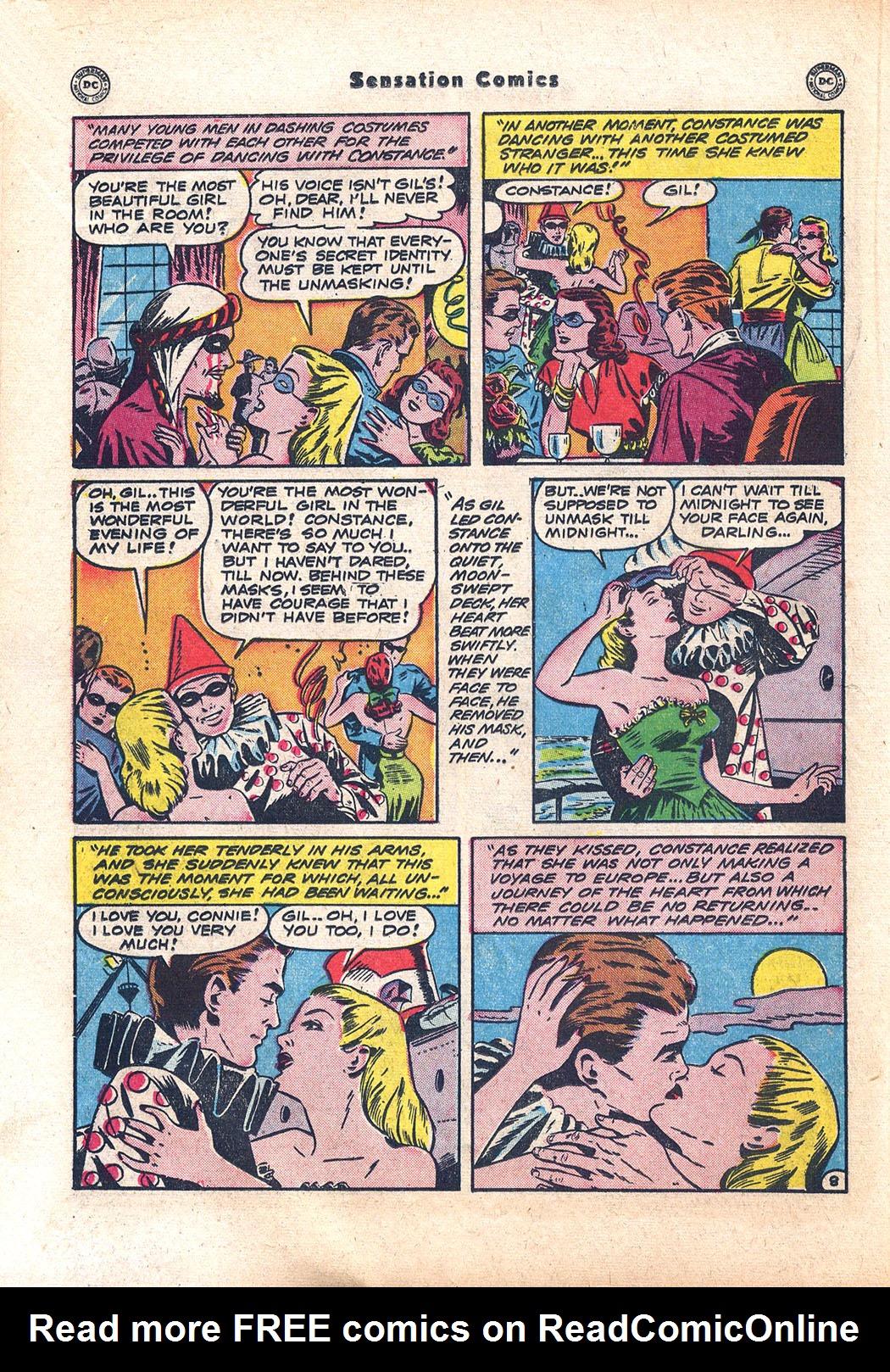 Read online Sensation (Mystery) Comics comic -  Issue #94 - 30