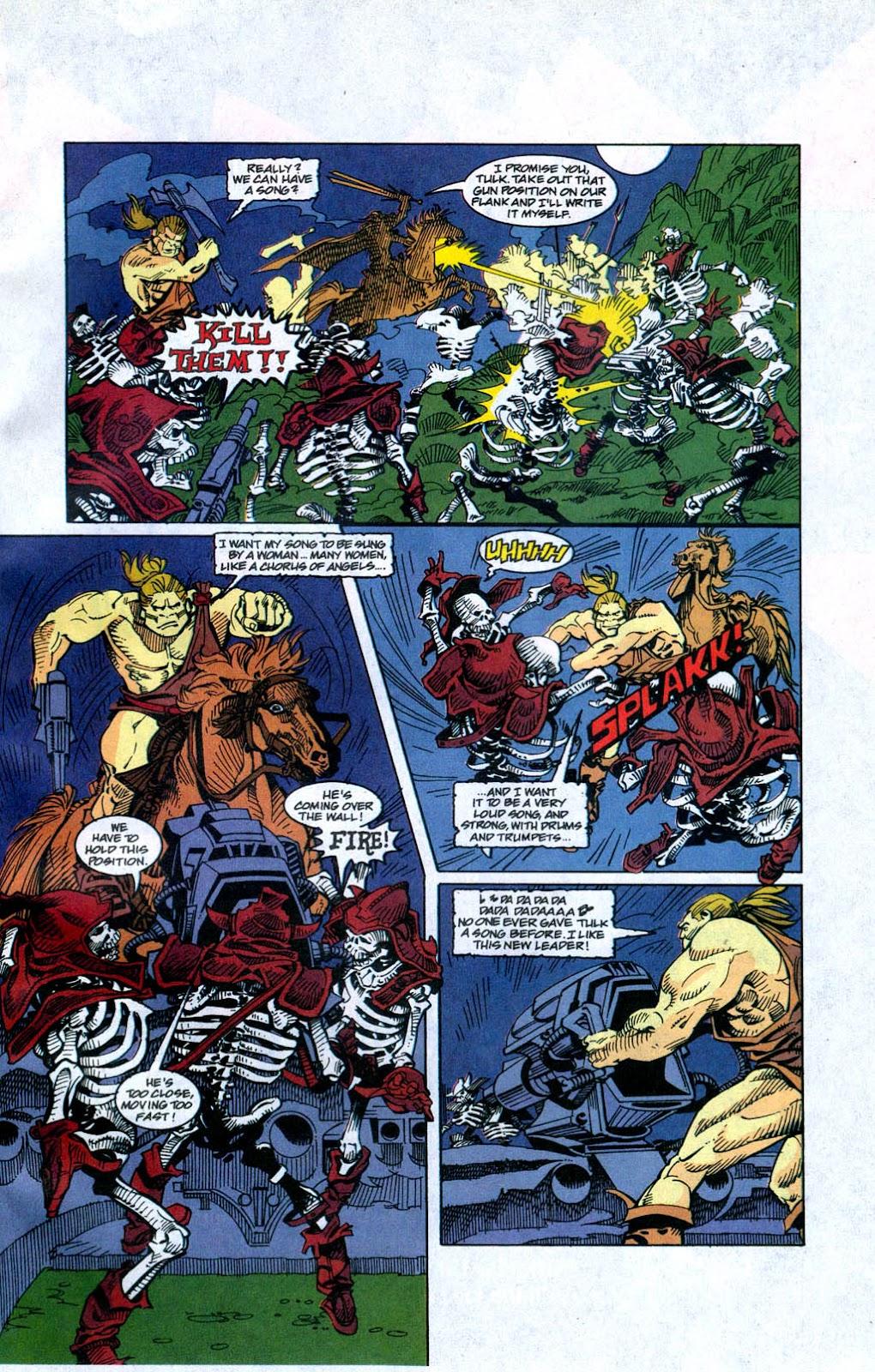 Skeleton Warriors Issue #4 #4 - English 19