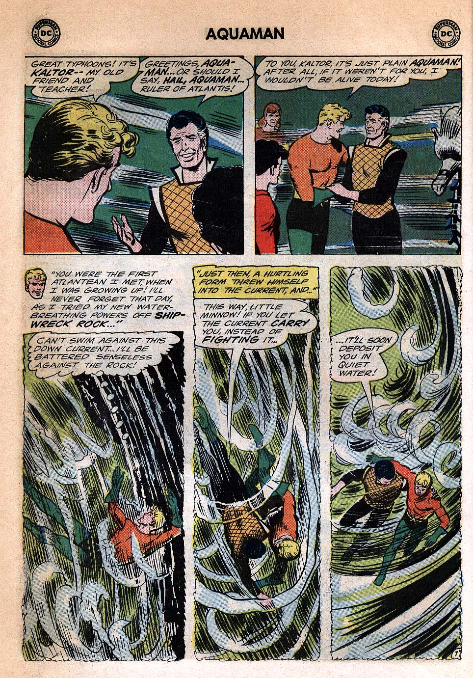 Read online Aquaman (1962) comic -  Issue #20 - 10