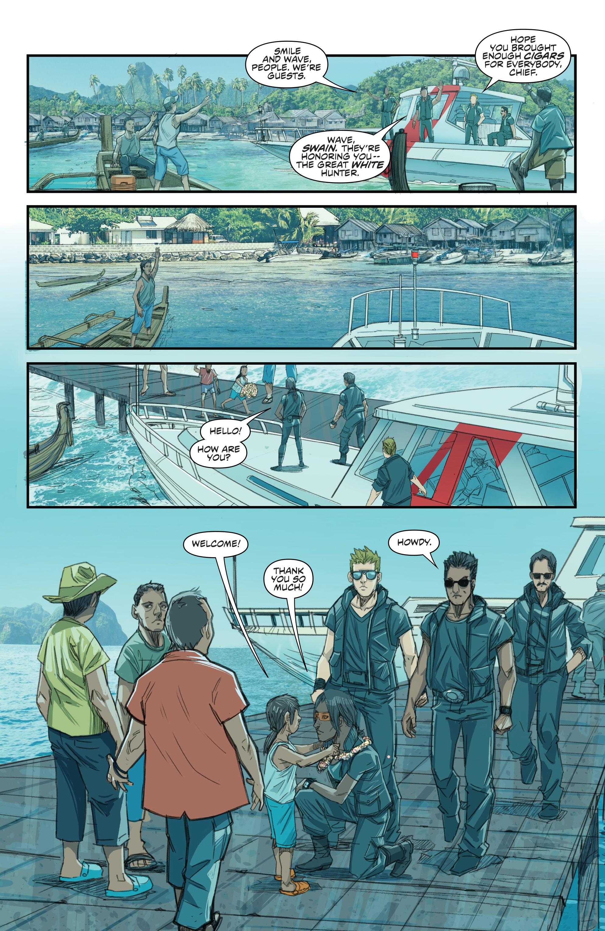 Read online Predator: Hunters comic -  Issue #2 - 22