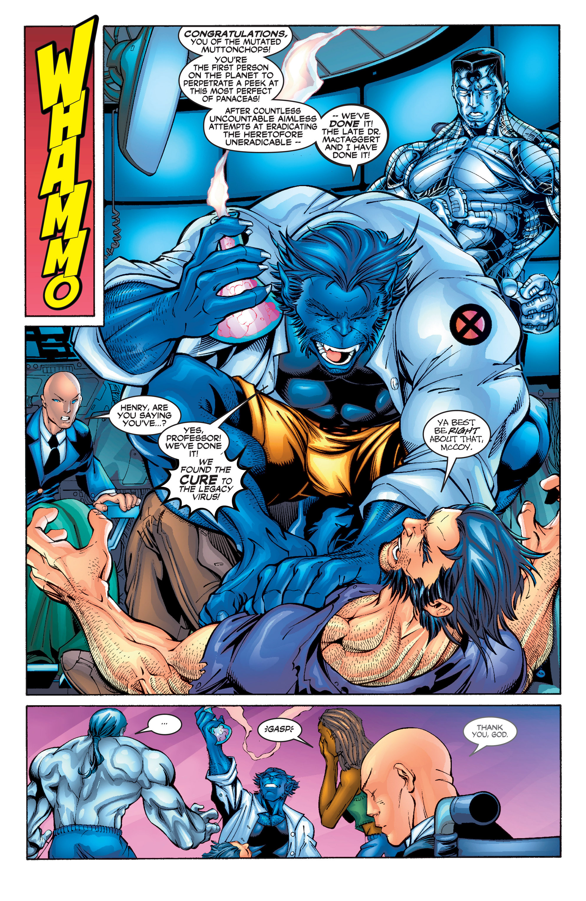 Read online Uncanny X-Men (1963) comic -  Issue #390 - 6